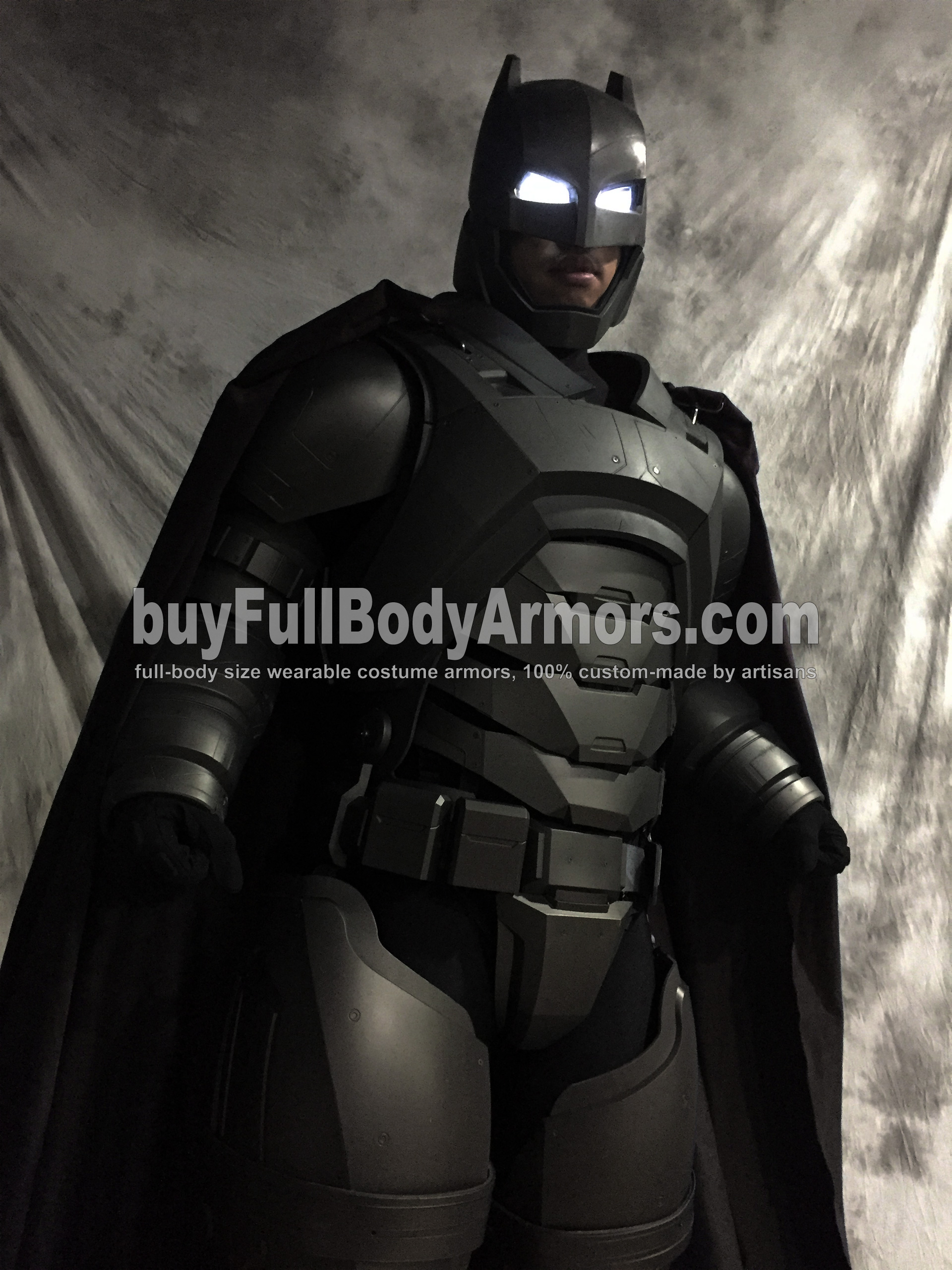 Full Body Prototype of the Wearable Armored Batsuit (Batman armor suit costume) in Batman v Superman: Dawn of Justice (2016) 4