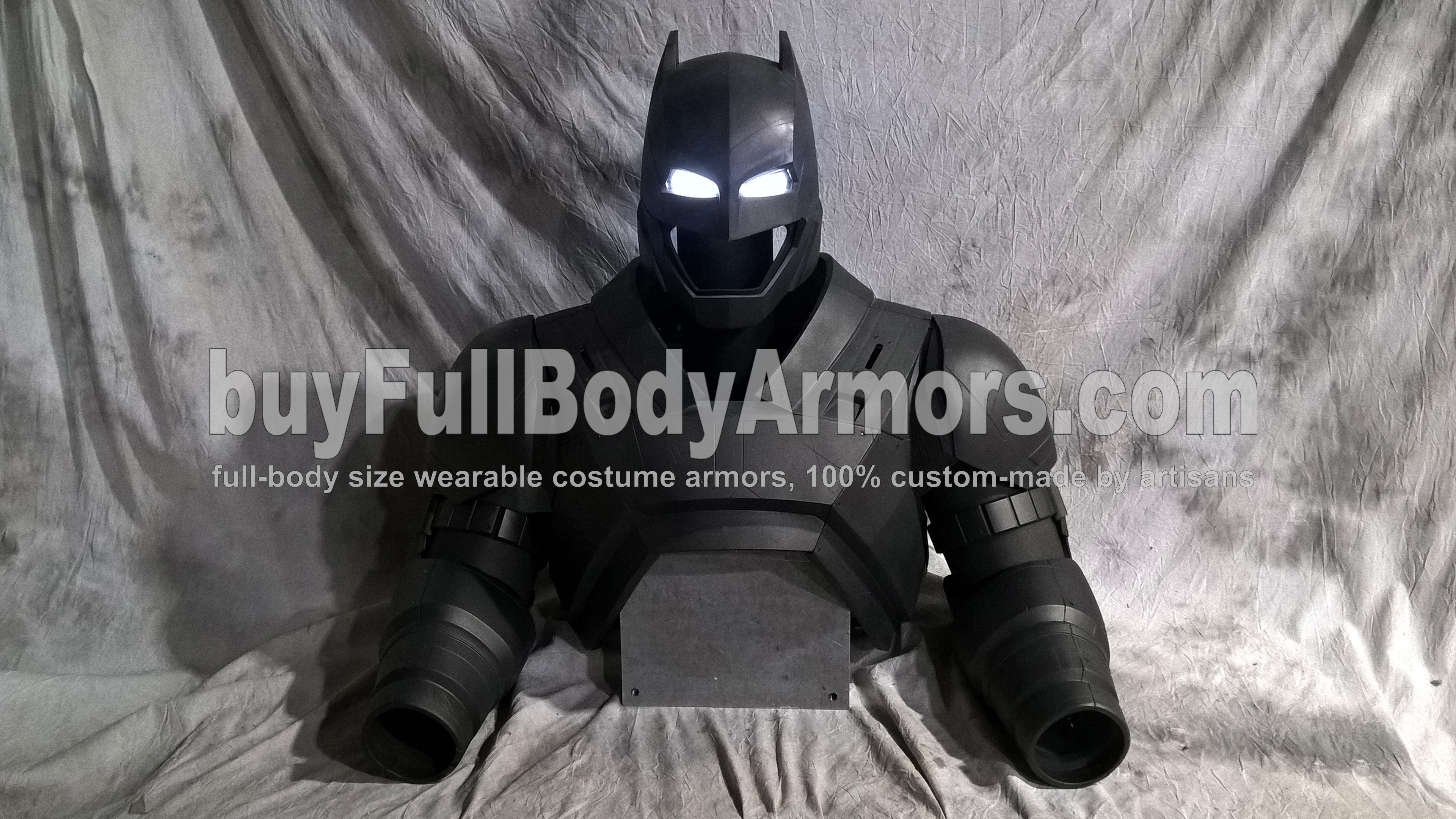 The New Wearable Armored Batsuit - the Batman Armor Costume Suit from the Movie Batman v Superman: Dawn Of Justice - the Top Half 1