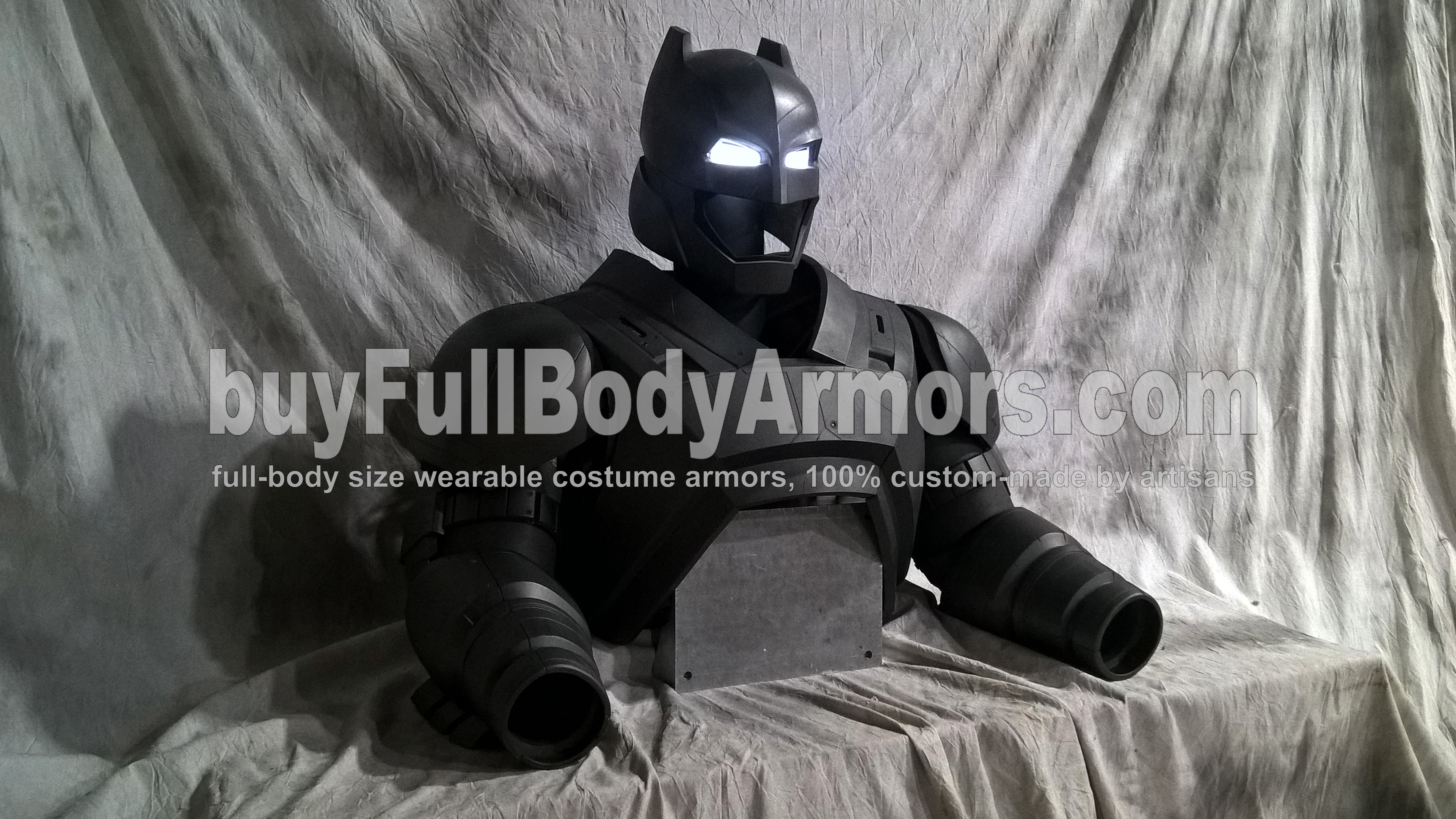 The New Wearable Armored Batsuit - the Batman Armor Costume Suit from the Movie Batman v Superman: Dawn Of Justice - the Top Half 2