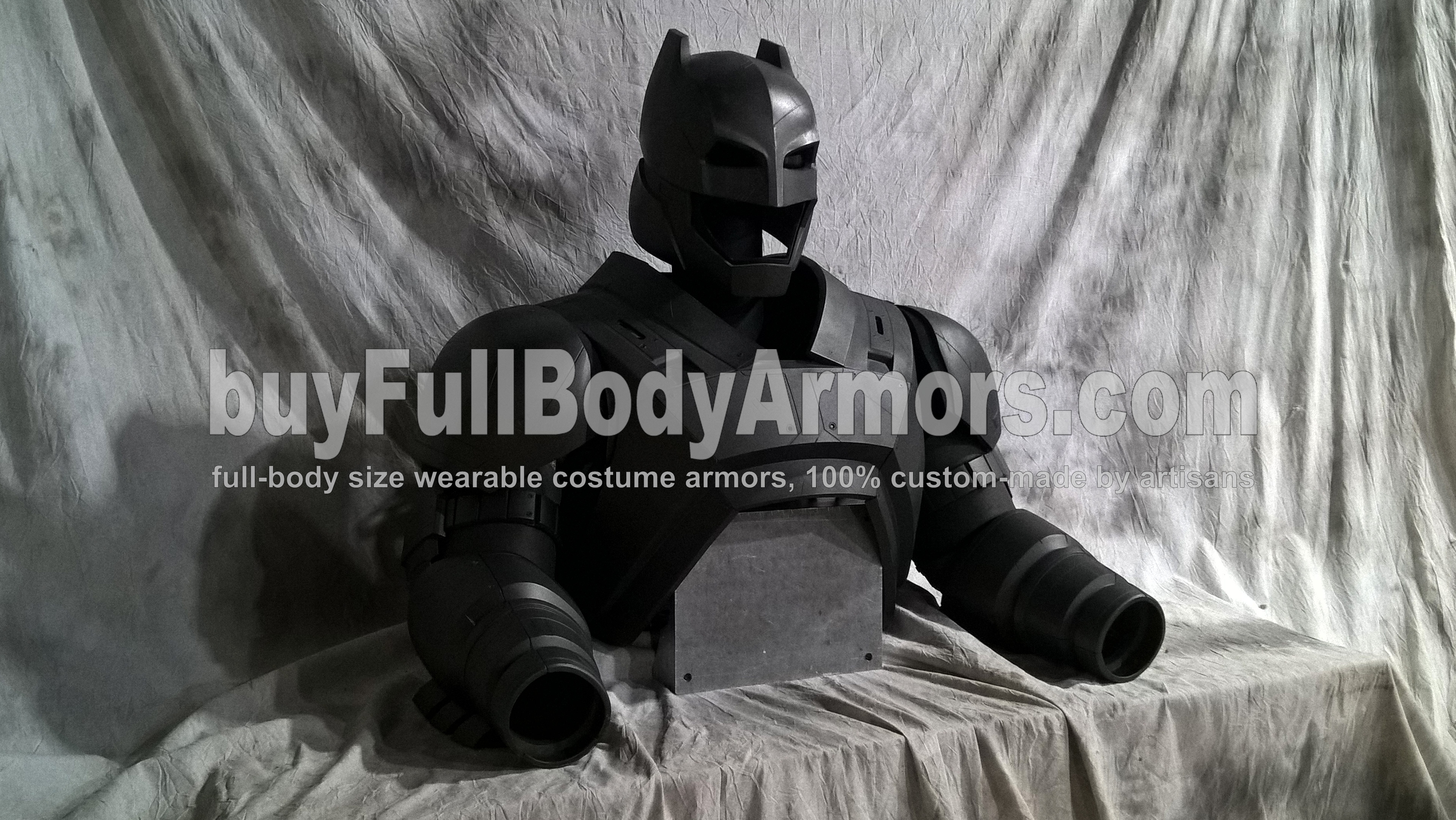 The New Wearable Armored Batsuit - the Batman Armor Costume Suit from the Movie Batman v Superman: Dawn Of Justice - the Top Half 4