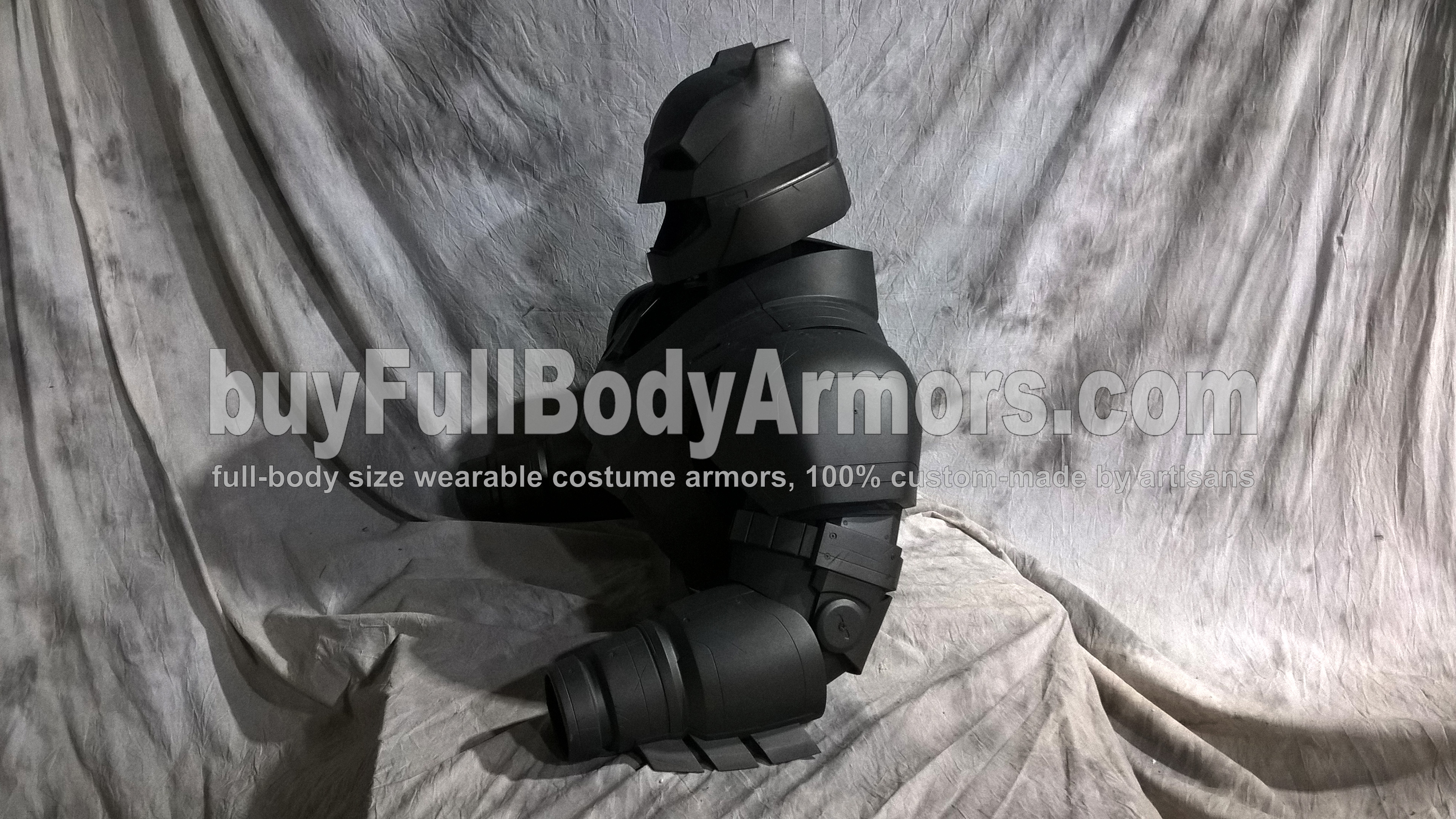 The New Wearable Armored Batsuit - the Batman Armor Costume Suit from the Movie Batman v Superman: Dawn Of Justice - the Top Half 5