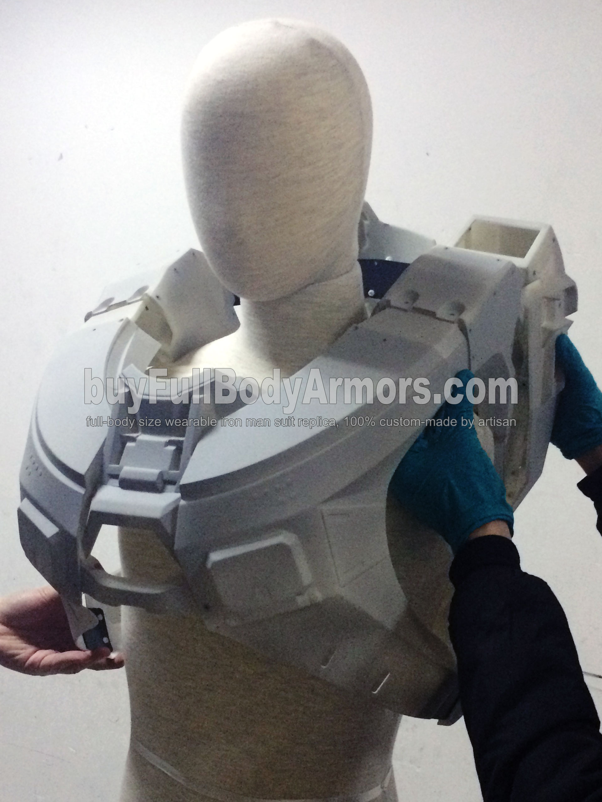 Halo 5 Master Chief Suit Chest Armor Prototype 1