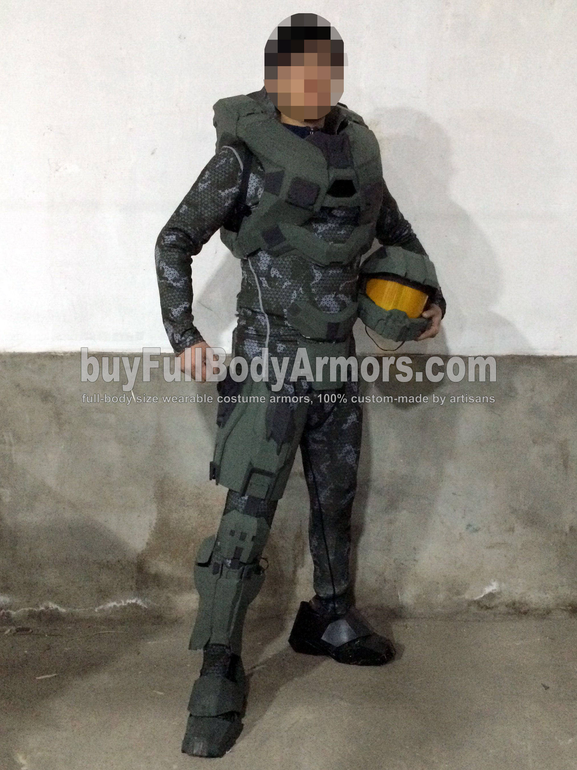 Halo 5 Master Chief partial colored prototype 1
