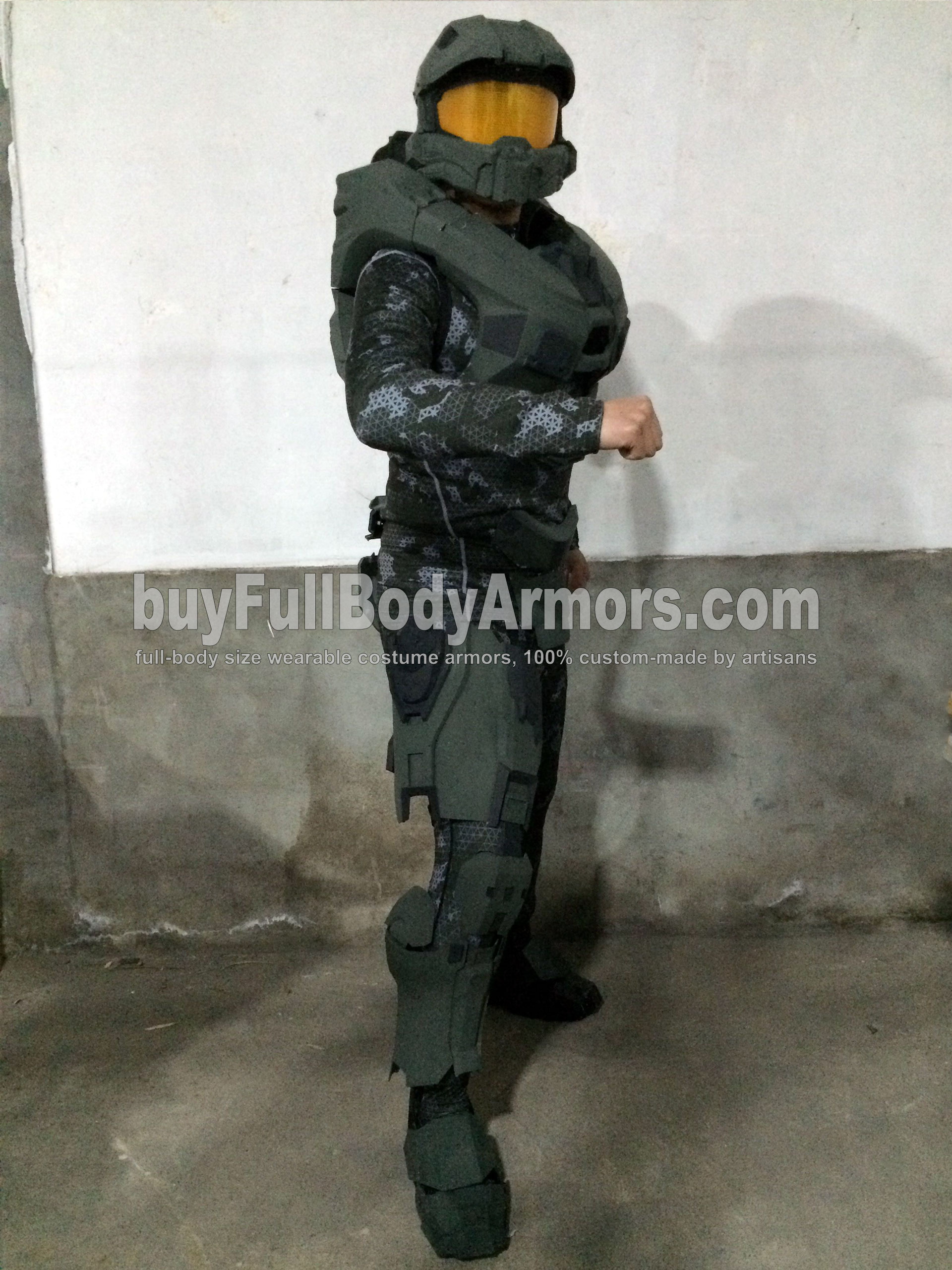 Halo 5 Master Chief partial colored prototype 2