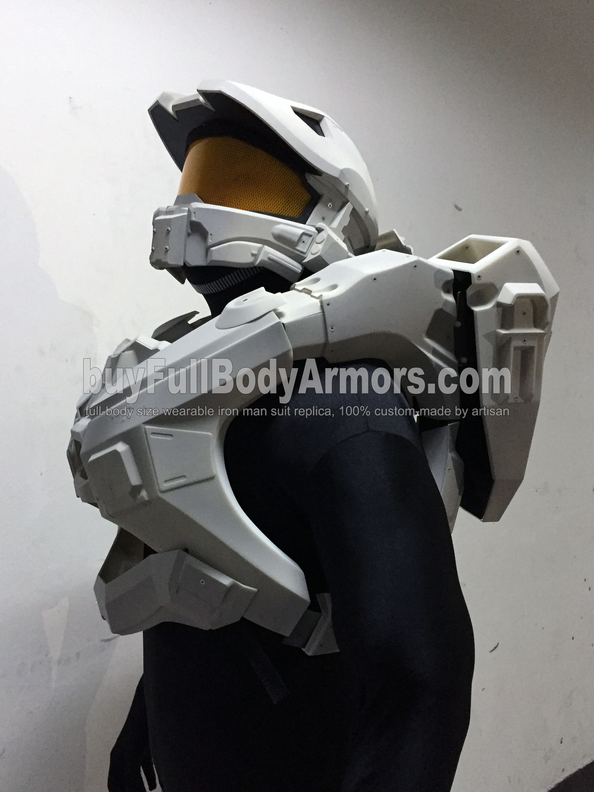 Halo 5 Master Chief Suit Armor helmet chest wearing 1