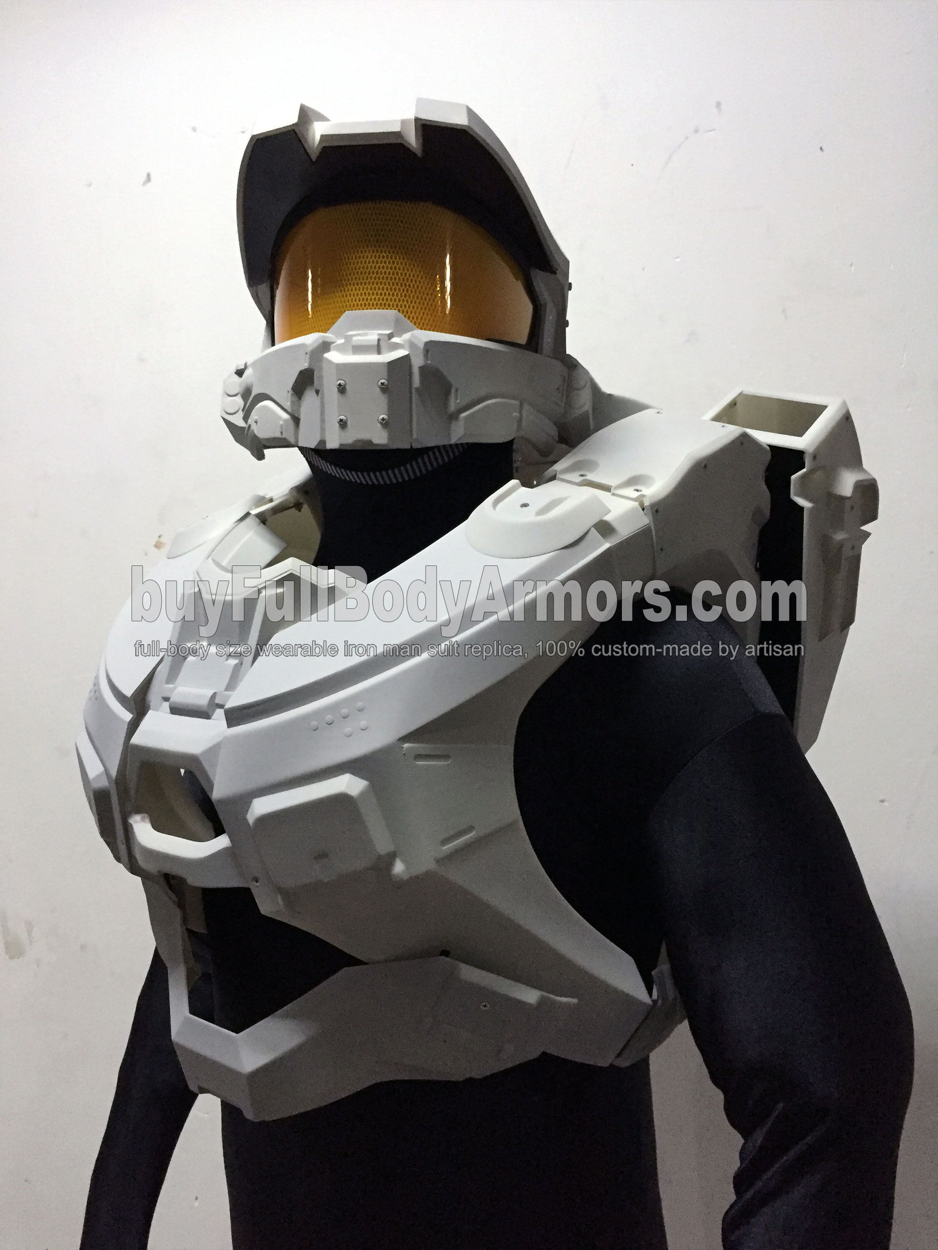 Halo 5 Master Chief Suit Armor helmet chest wearing 2