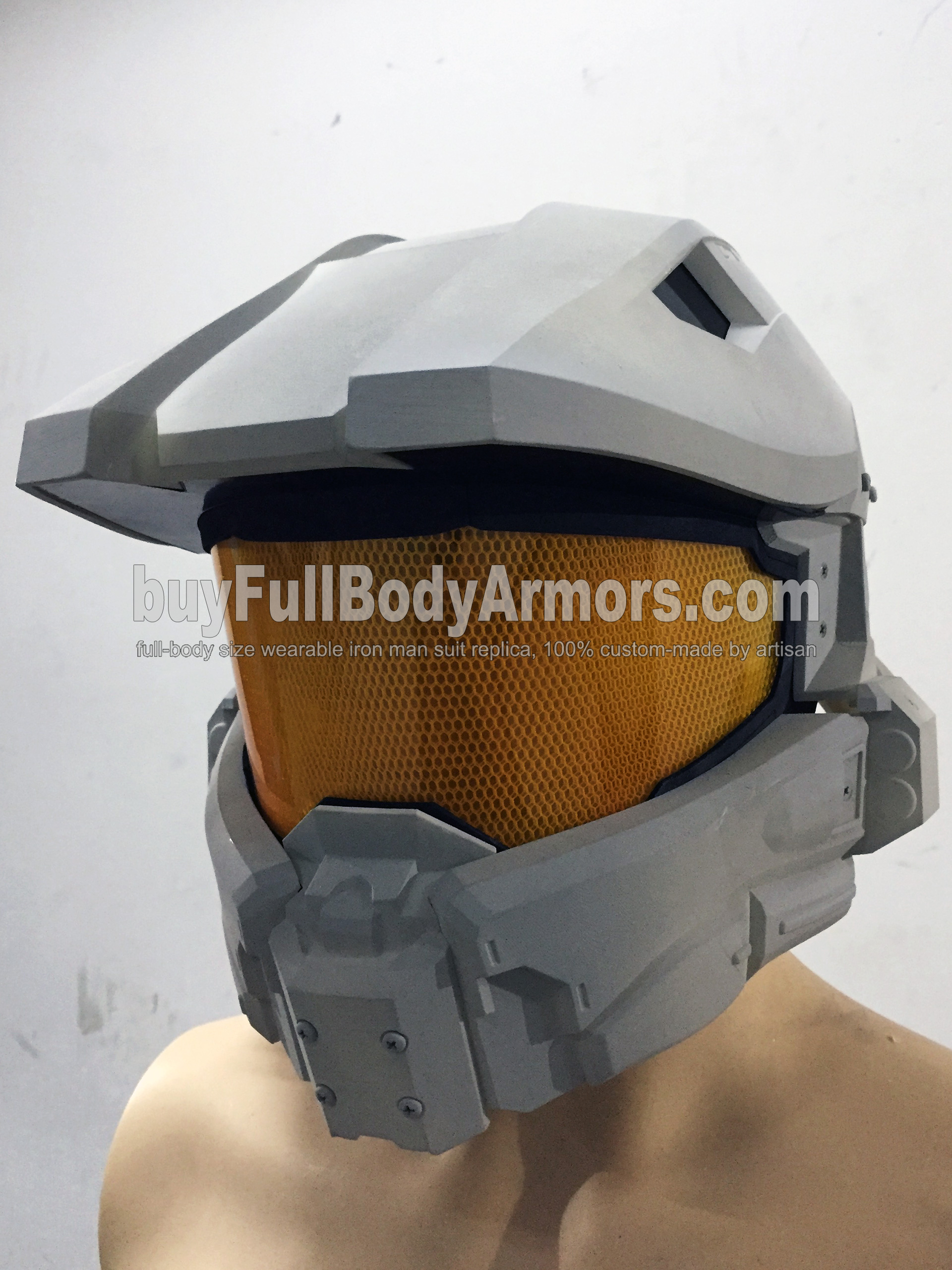 Halo 5 Master Chief Helmet Prototype 3