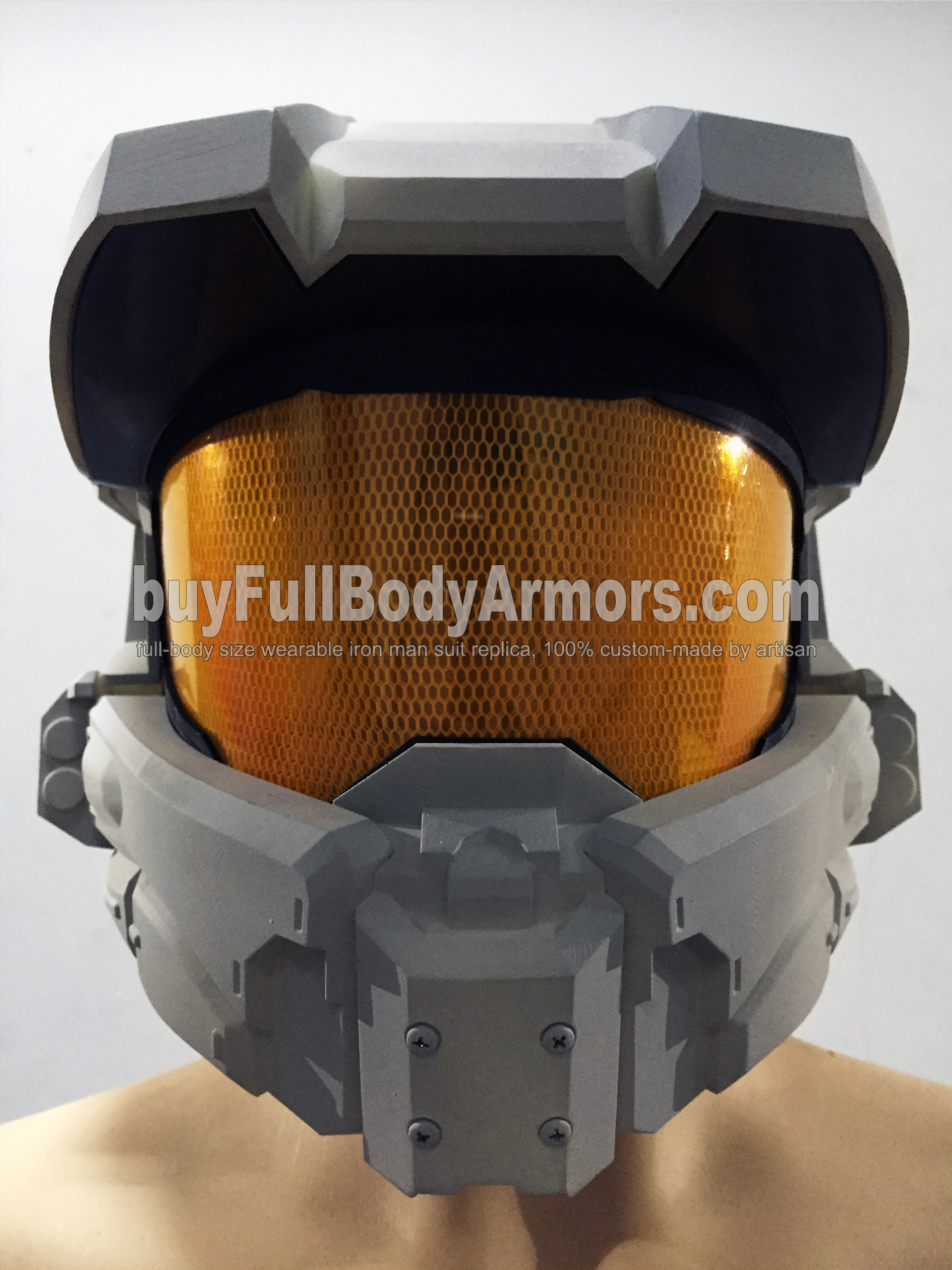 Halo 5 Master Chief Helmet Prototype 4