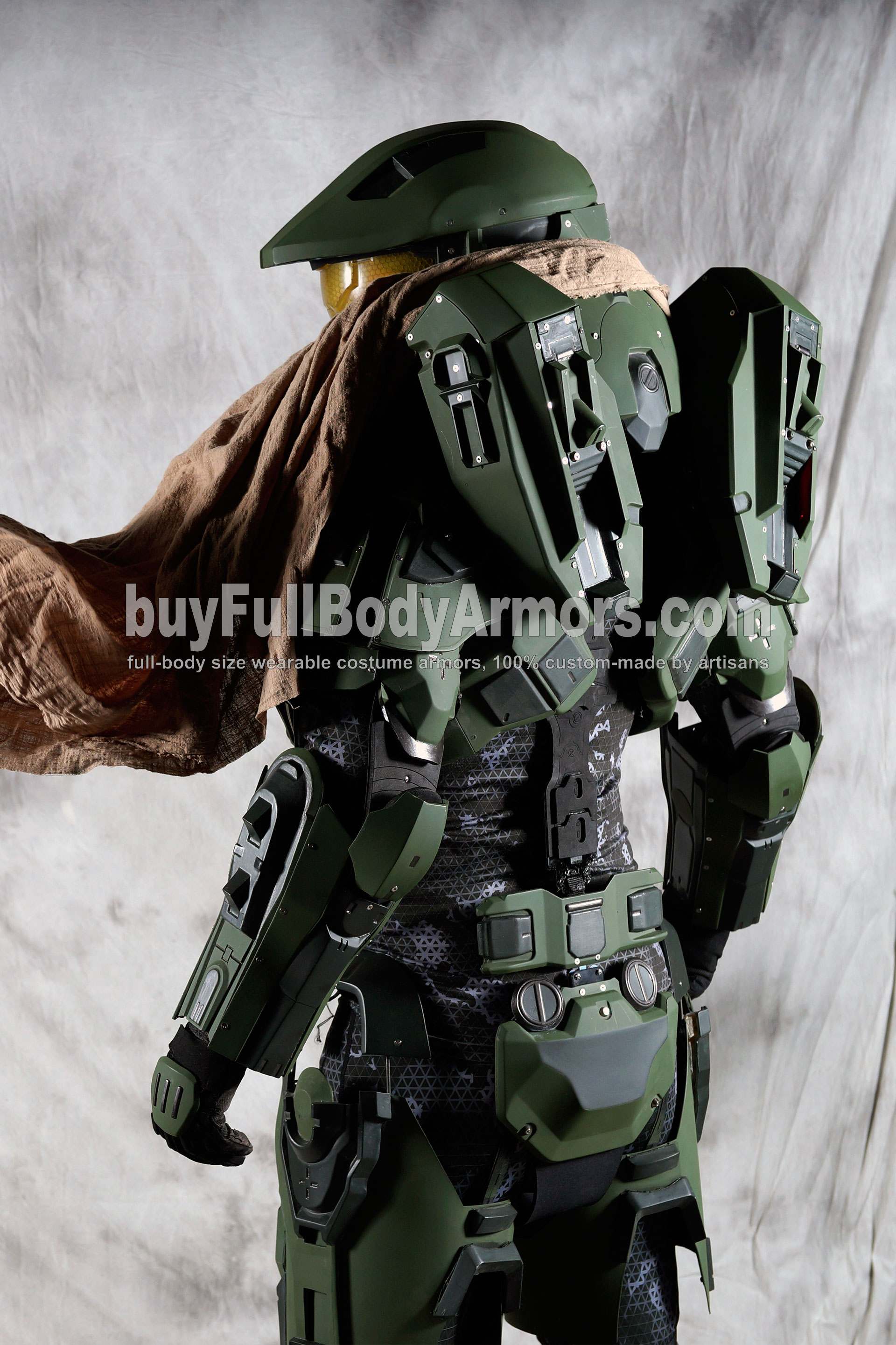 Halo 5 Master Chief Armor Suit Costume 5 : halo 4 costume  - Germanpascual.Com