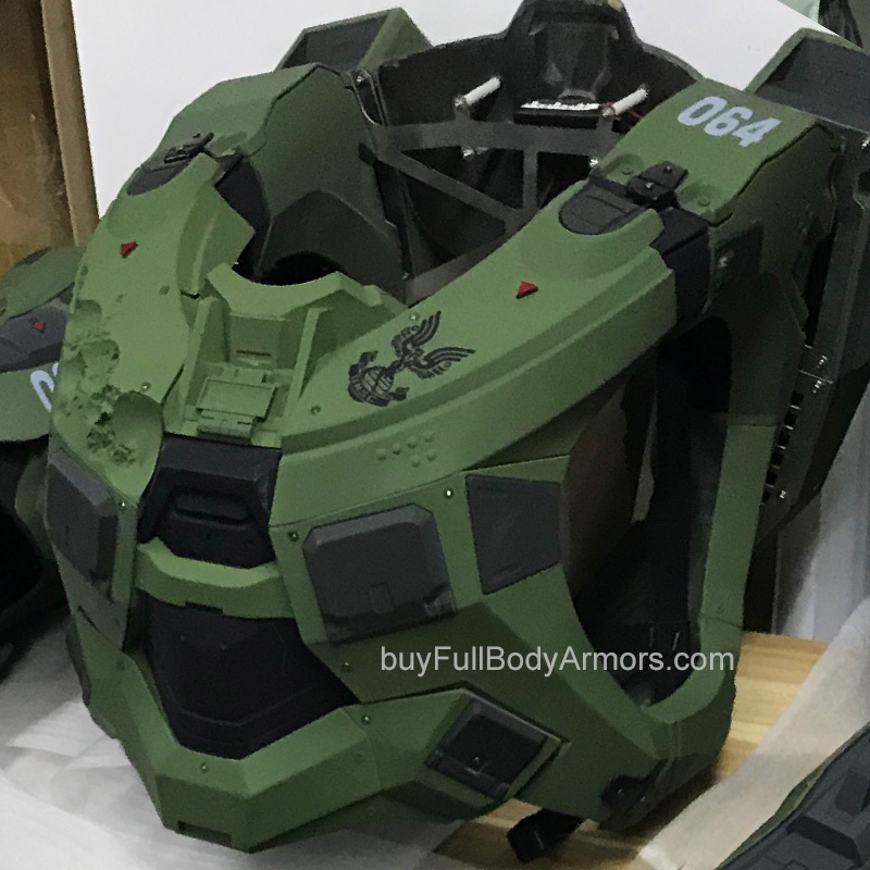 wearable Halo 5 Master Chief Personalized Printing