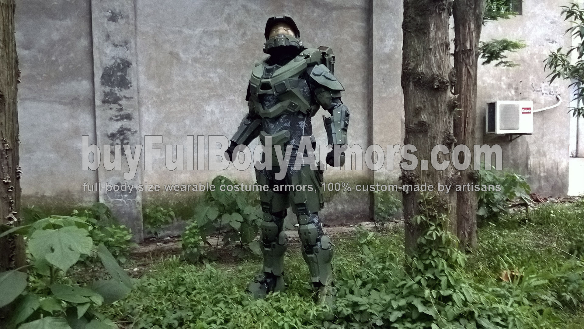 life-size wearable Halo 5 Master Chief Armor Suit Costume 1