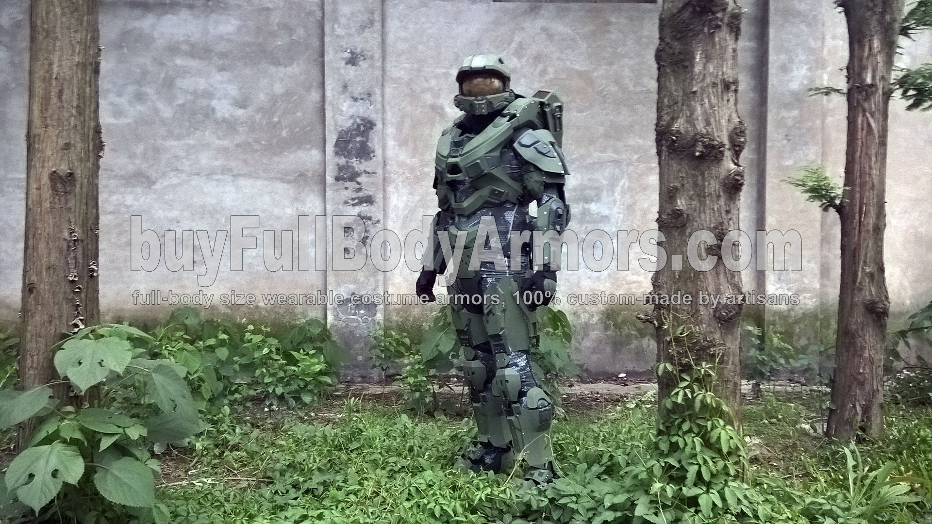 life-size wearable Halo 5 Master Chief Armor Suit Costume 2