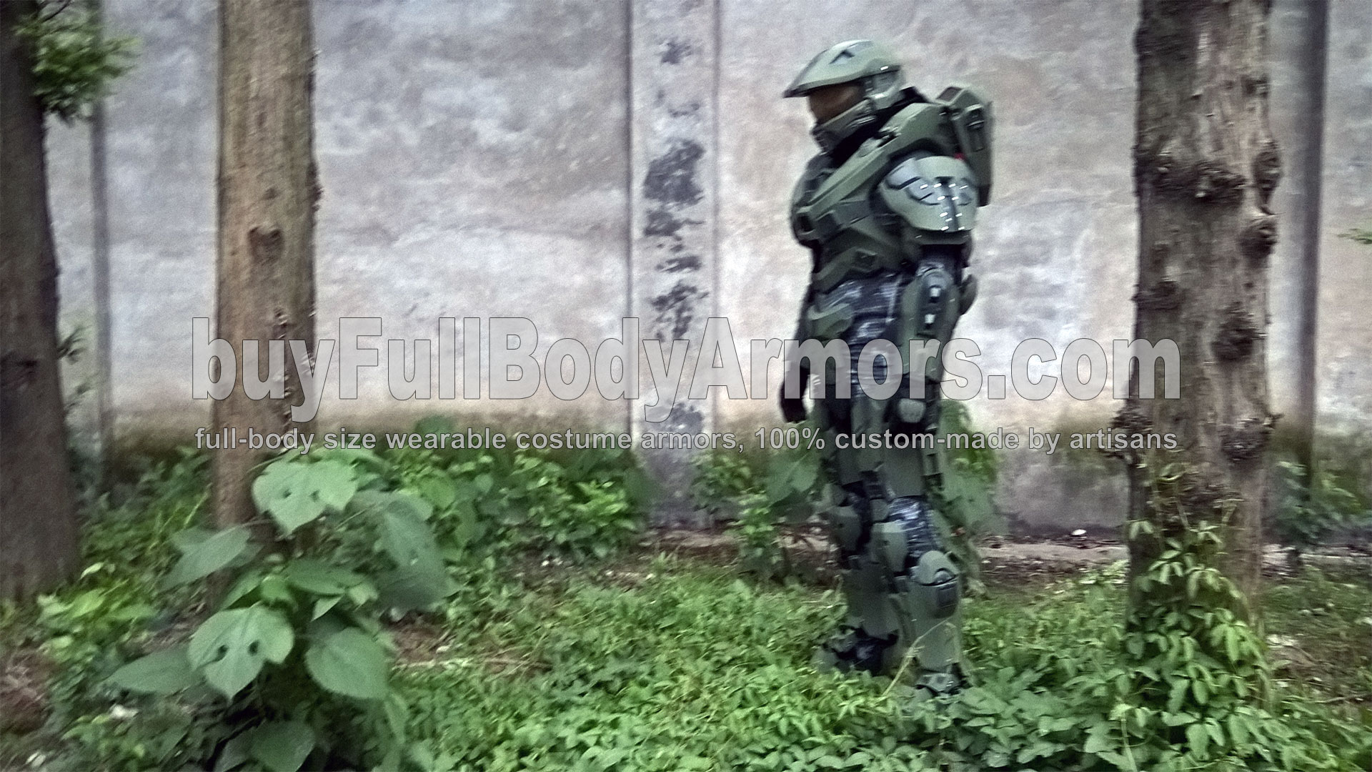 life-size wearable Halo 5 Master Chief Armor Suit Costume 3