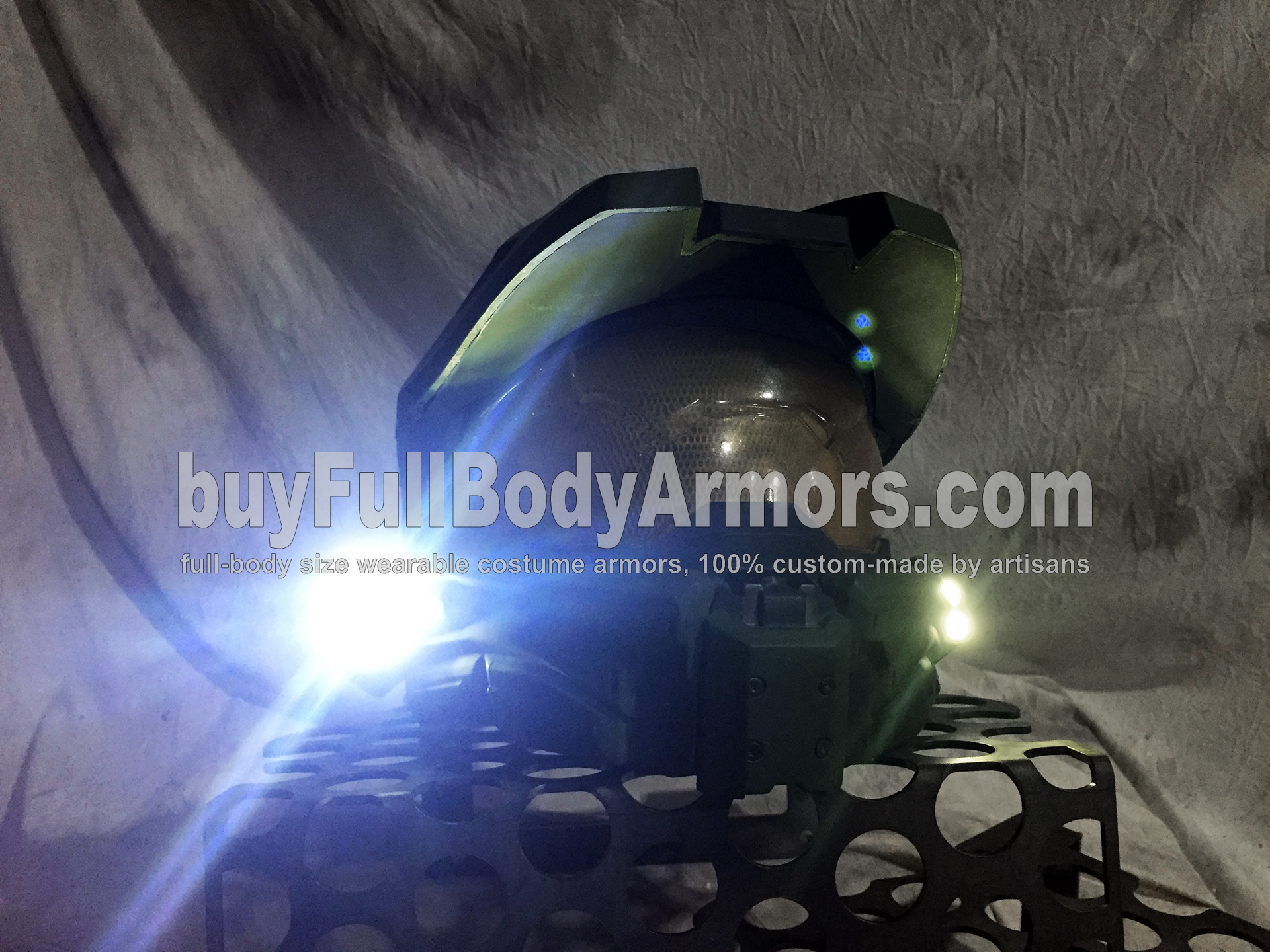 New Add-on for the Wearable Halo 5 Master Chief Helmet