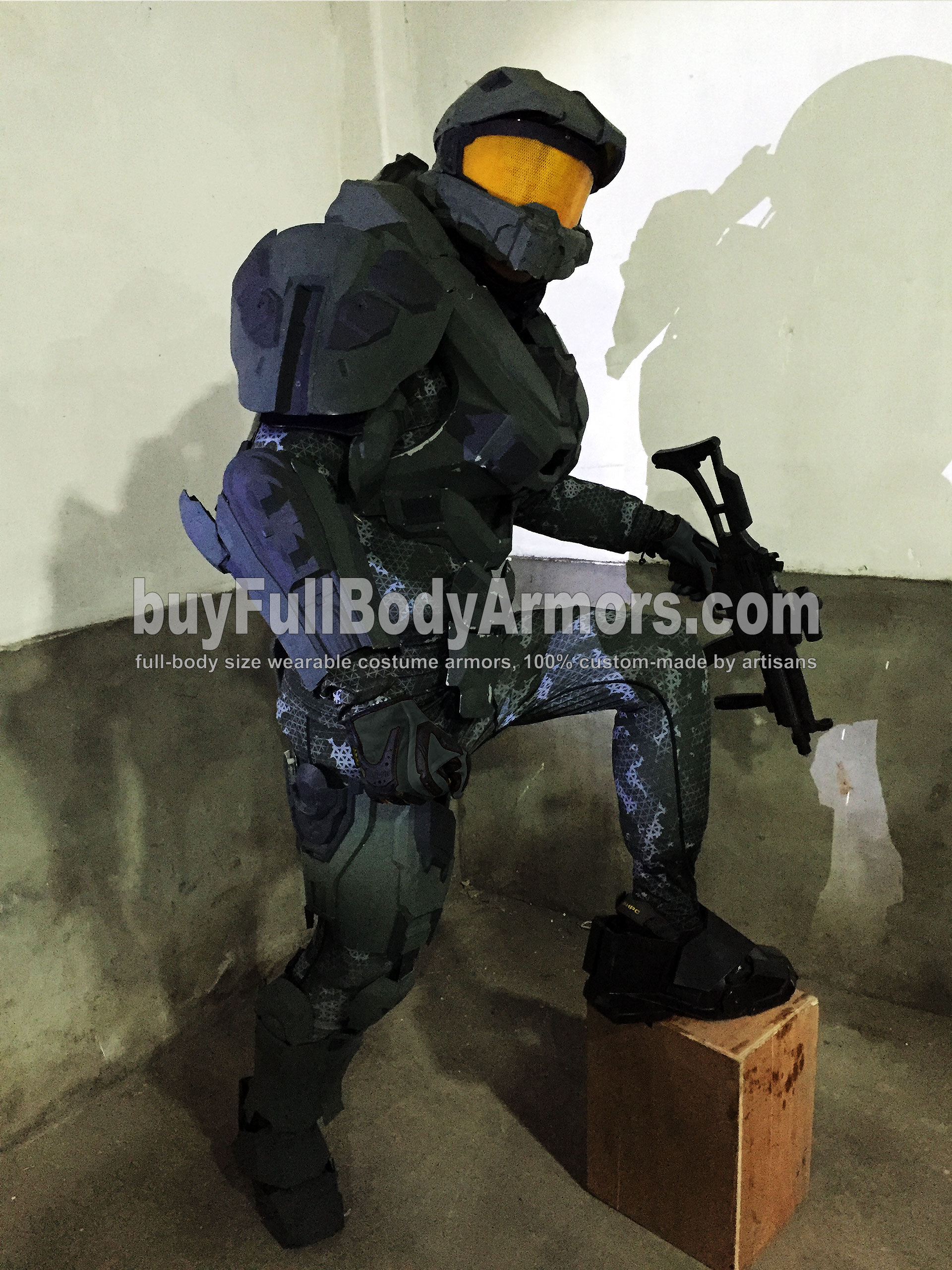 wearable halo 5 master chief armor suit costume prototype 1