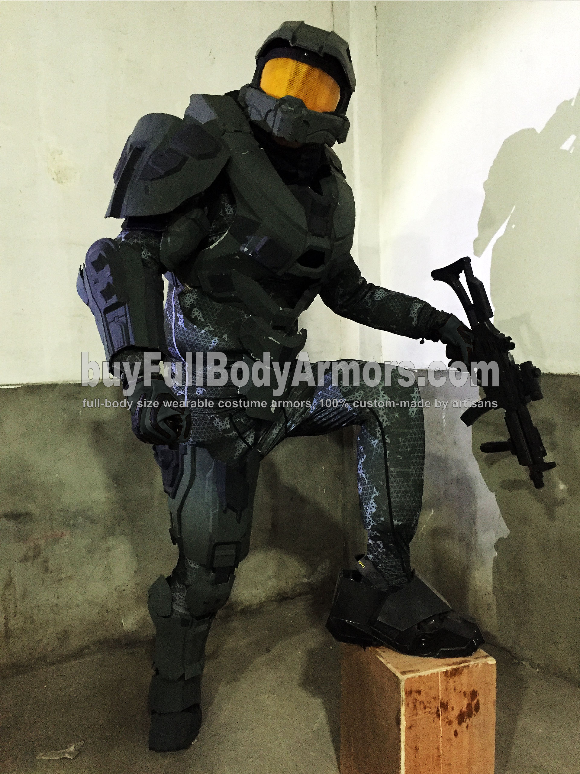 wearable Halo 5 Master Chief armor suit costume prototype 2