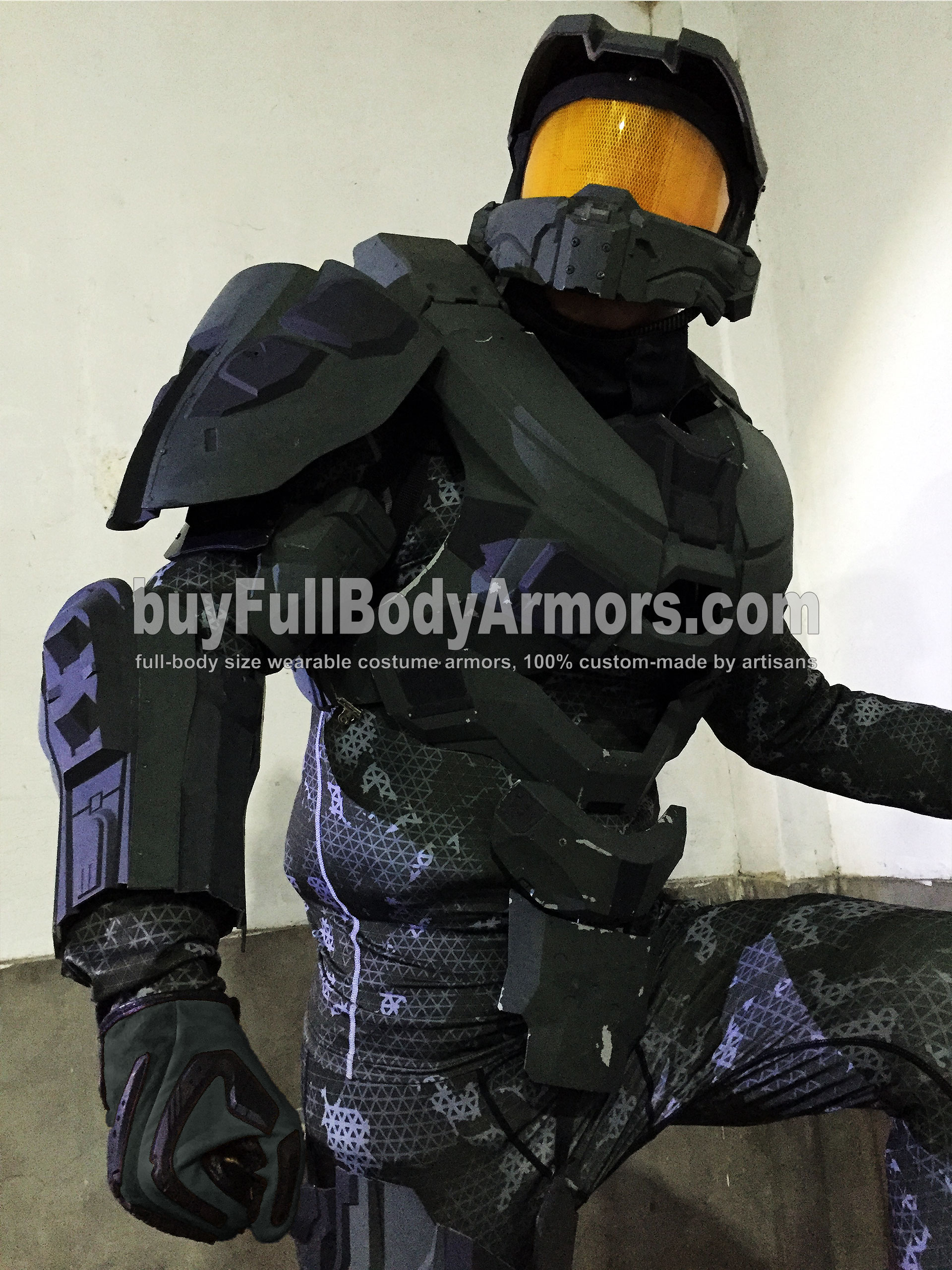 wearable Halo 5 Master Chief armor suit costume prototype 3