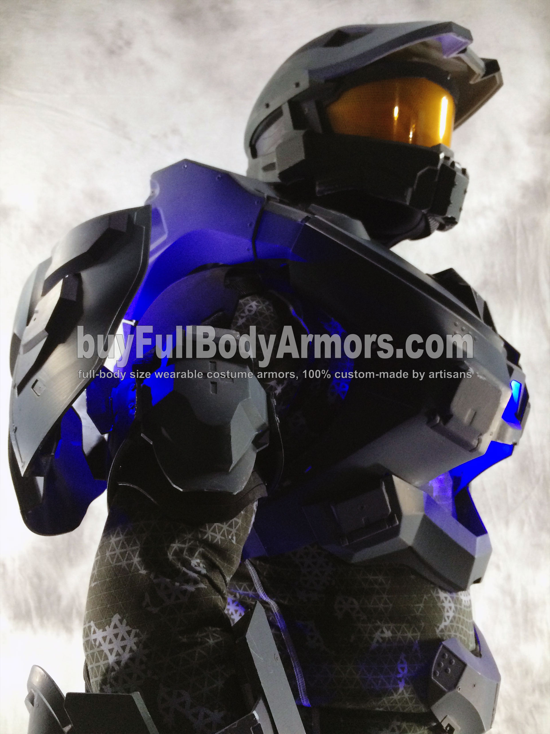 wearable Halo 5 Master Chief armor suit costume prototype DSLR12