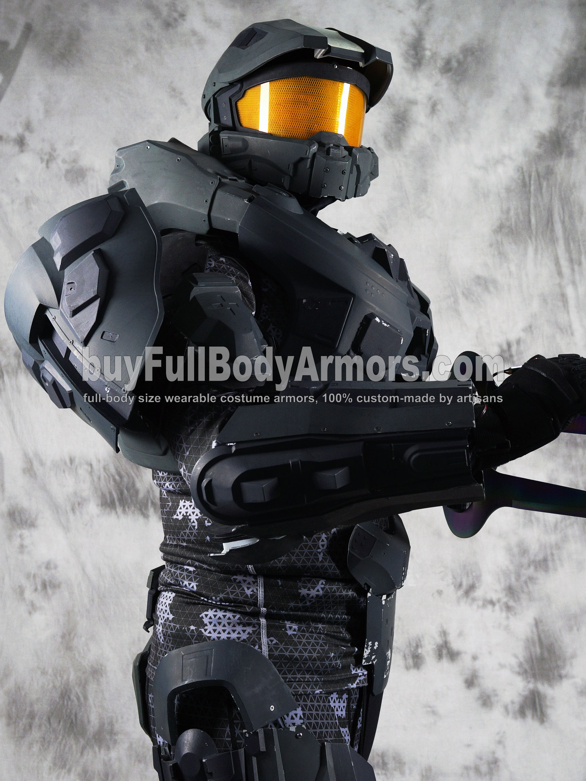 wearable Halo 4 Master Chief armor suit costume prototype DSLR3