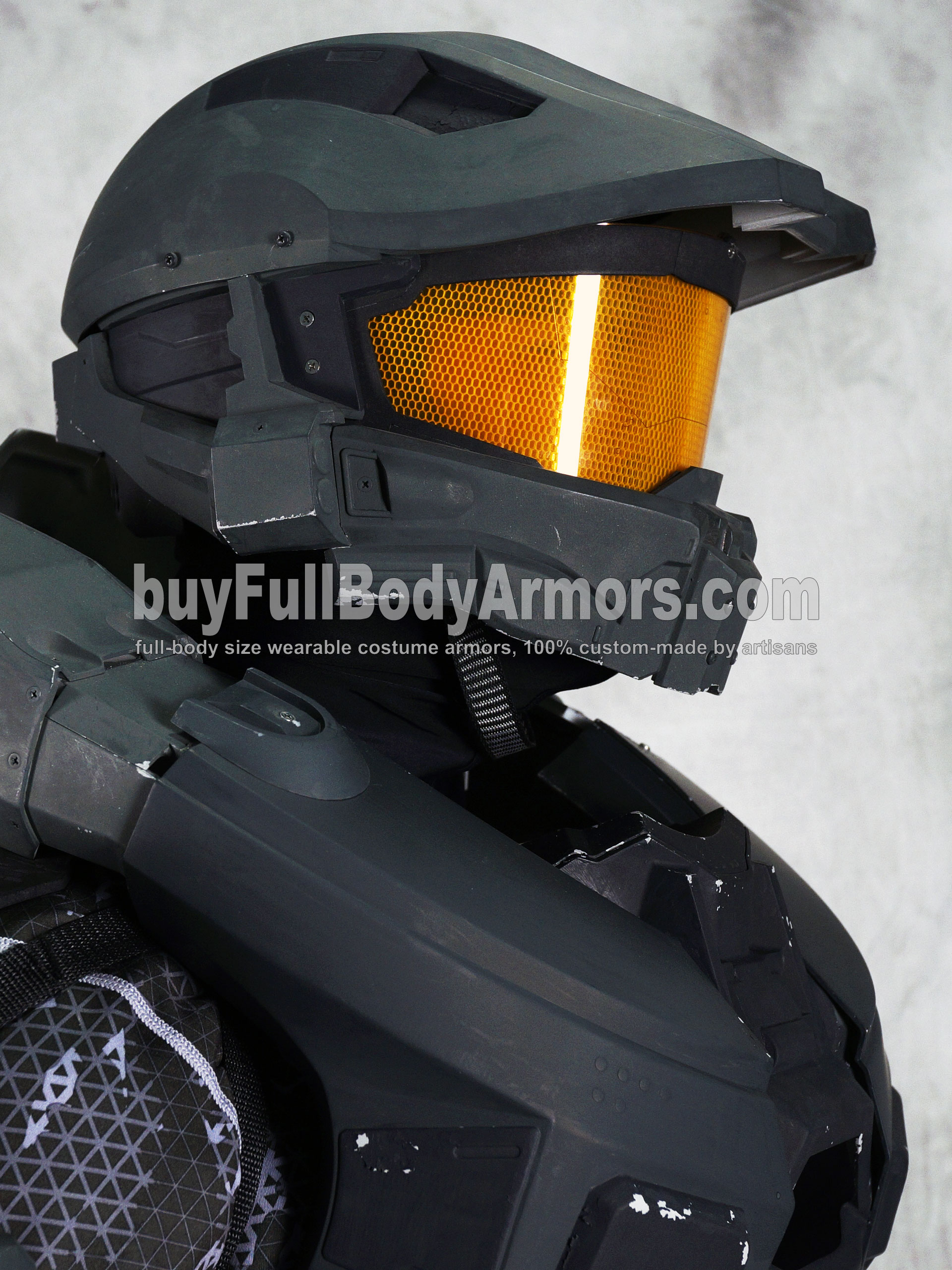 wearable Halo 4 Master Chief armor suit costume prototype DSLR8