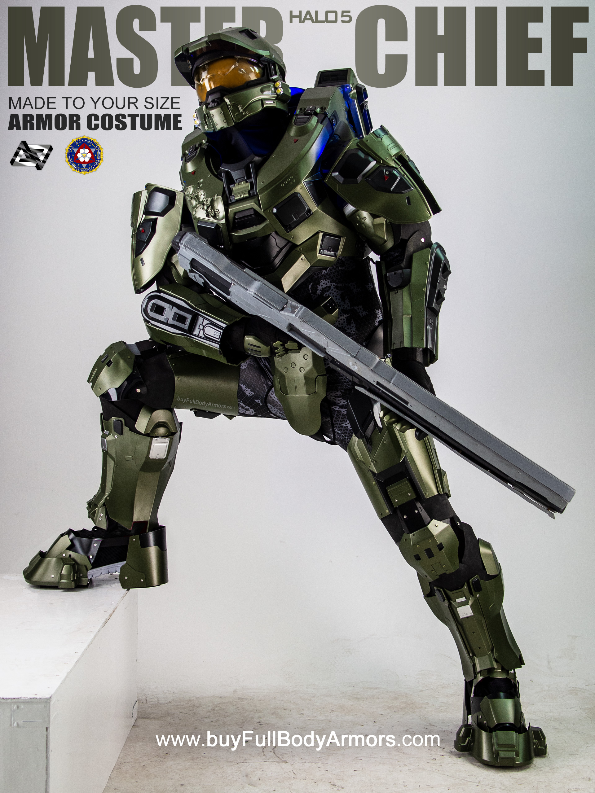 Halo 5 Master Chief Armor Suit Costume side