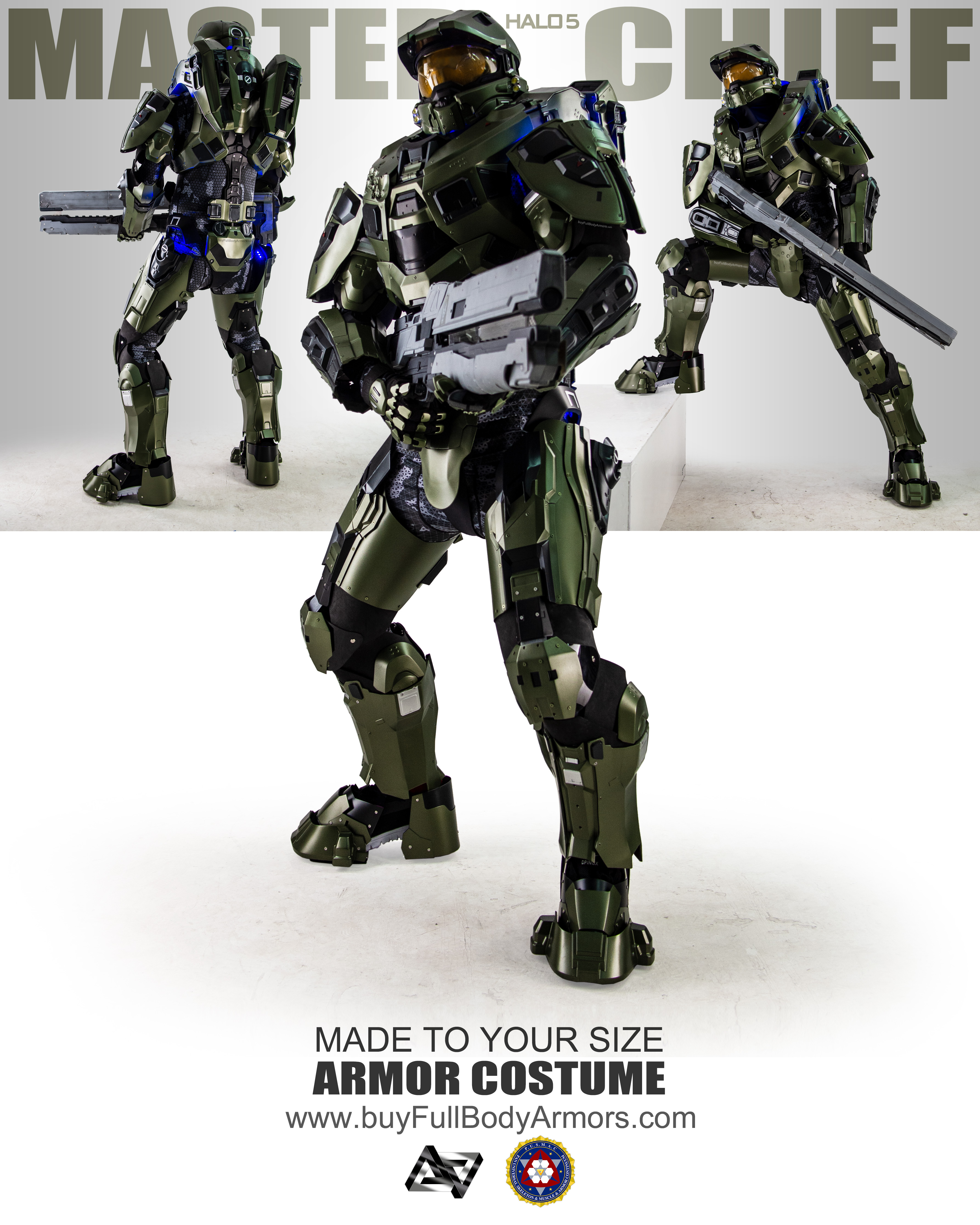 Halo 5 Master Chief Armor Suit Costume poster