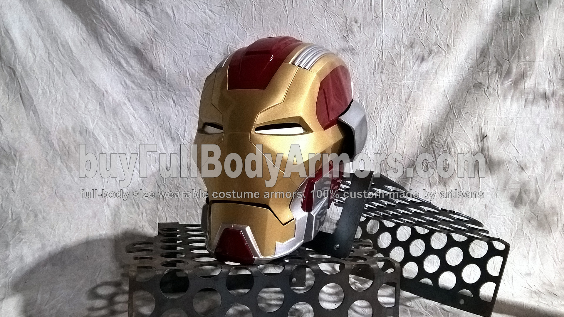 Wearable Iron Man Mark 17 Helmet
