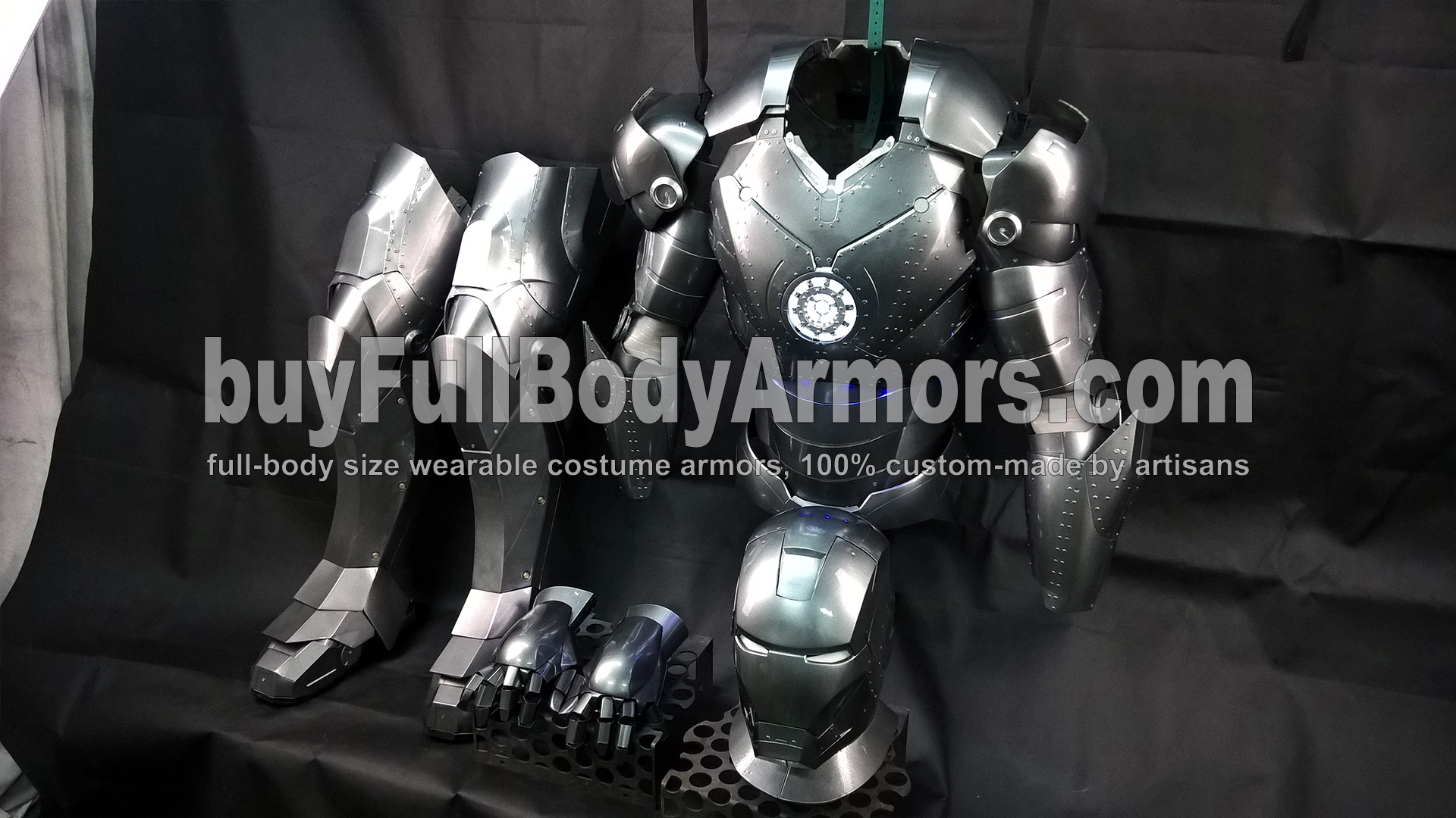 All Parts of the Wearable Iron Man Suit Mark 2 II Armor Costume 1