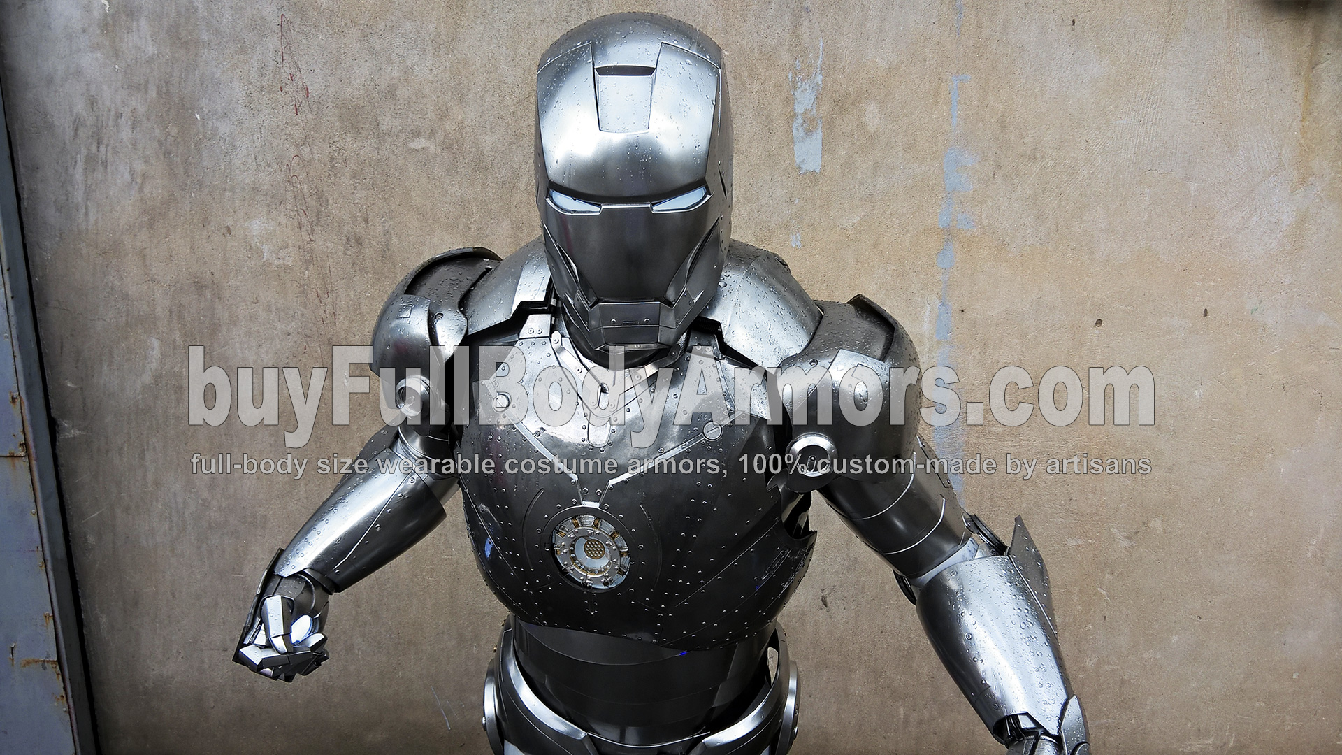 wearable Iron Man Mark 2 II armor costume suit top half 1
