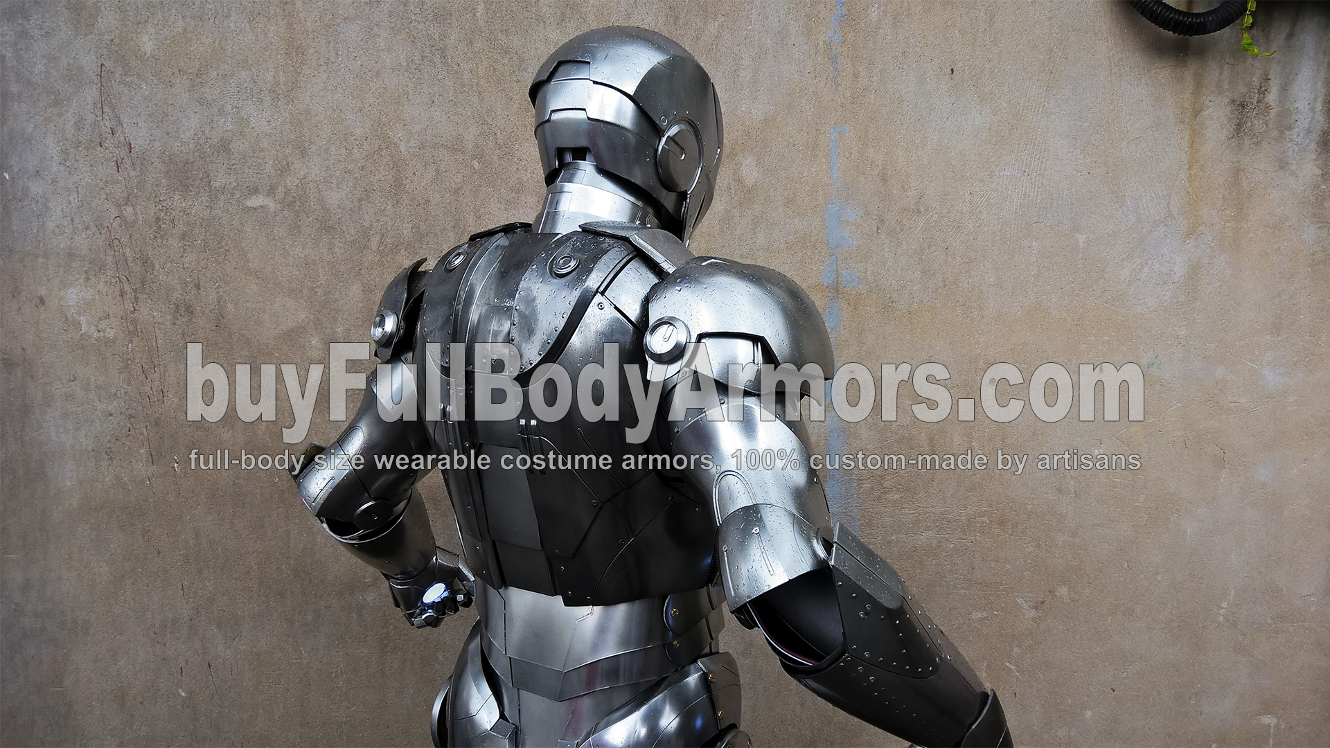 wearable Iron Man Mark 2 II armor costume suit top half 3