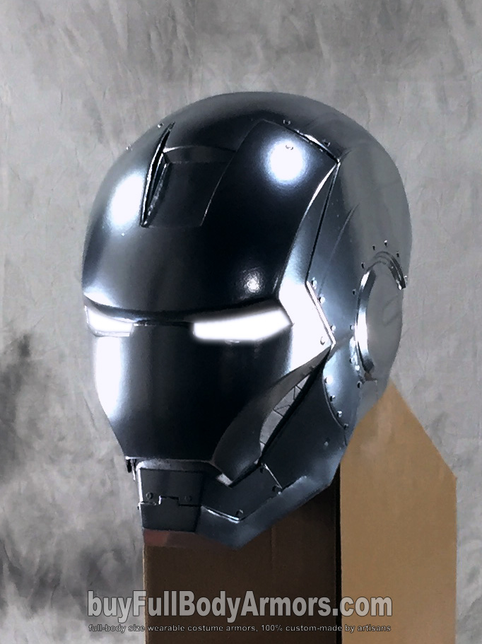 Wearable Iron Man Mark II (2) Helmet Prototype side
