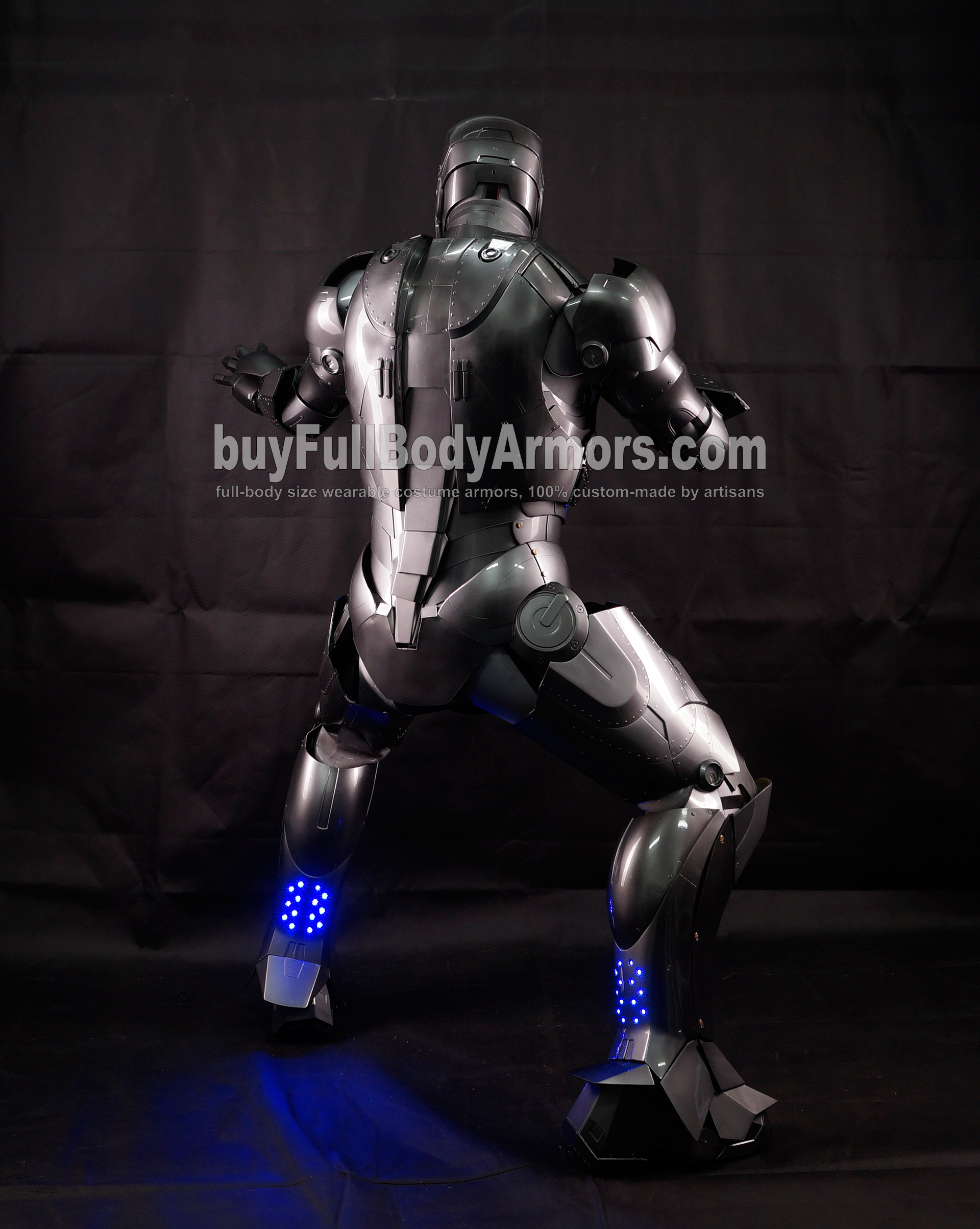 High Definition Photos of the Wearable Iron Man Mark 2 II Armor Costume Suit 10