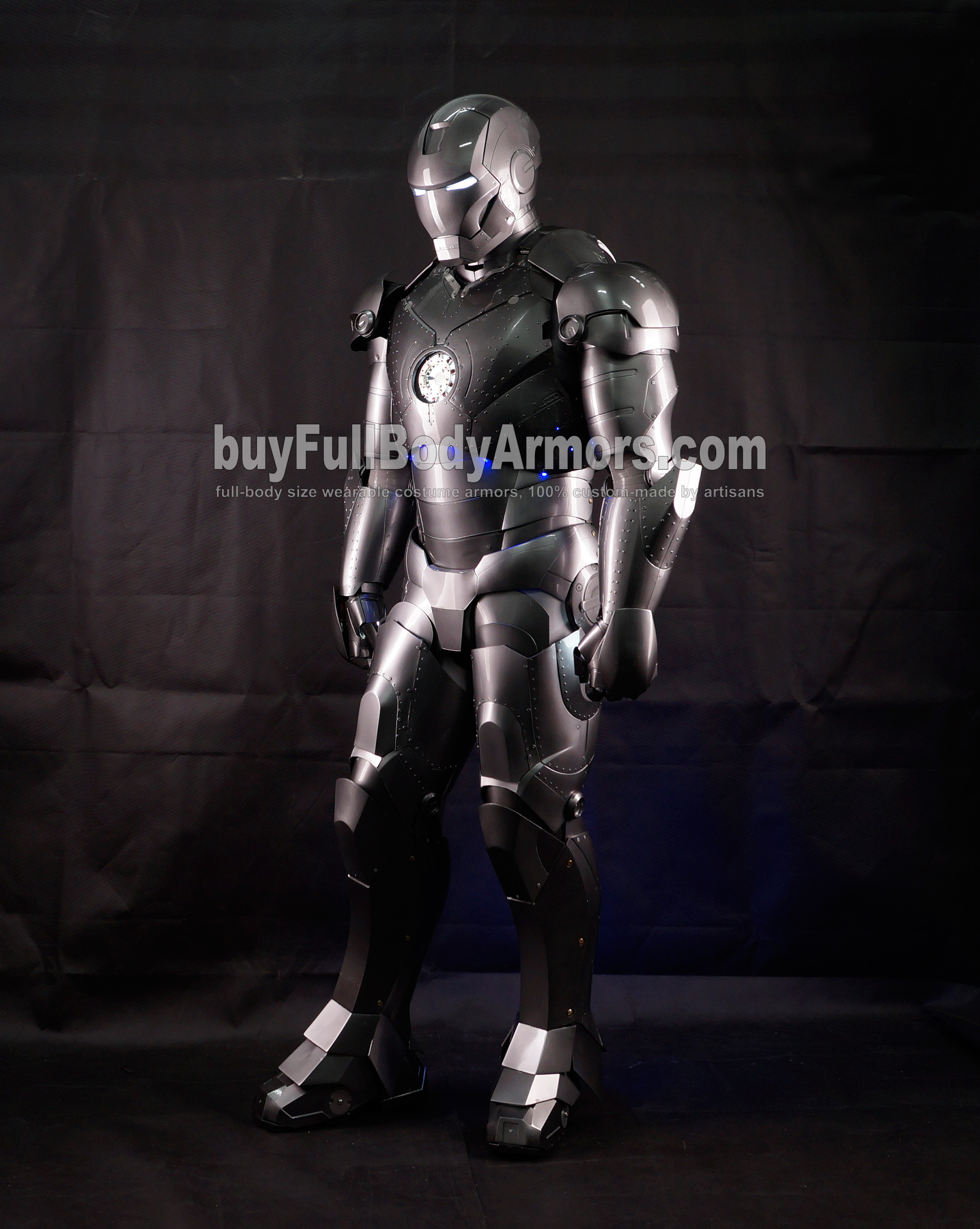 High Definition Photos of the Wearable Iron Man Mark 2 II Armor Costume Suit 11