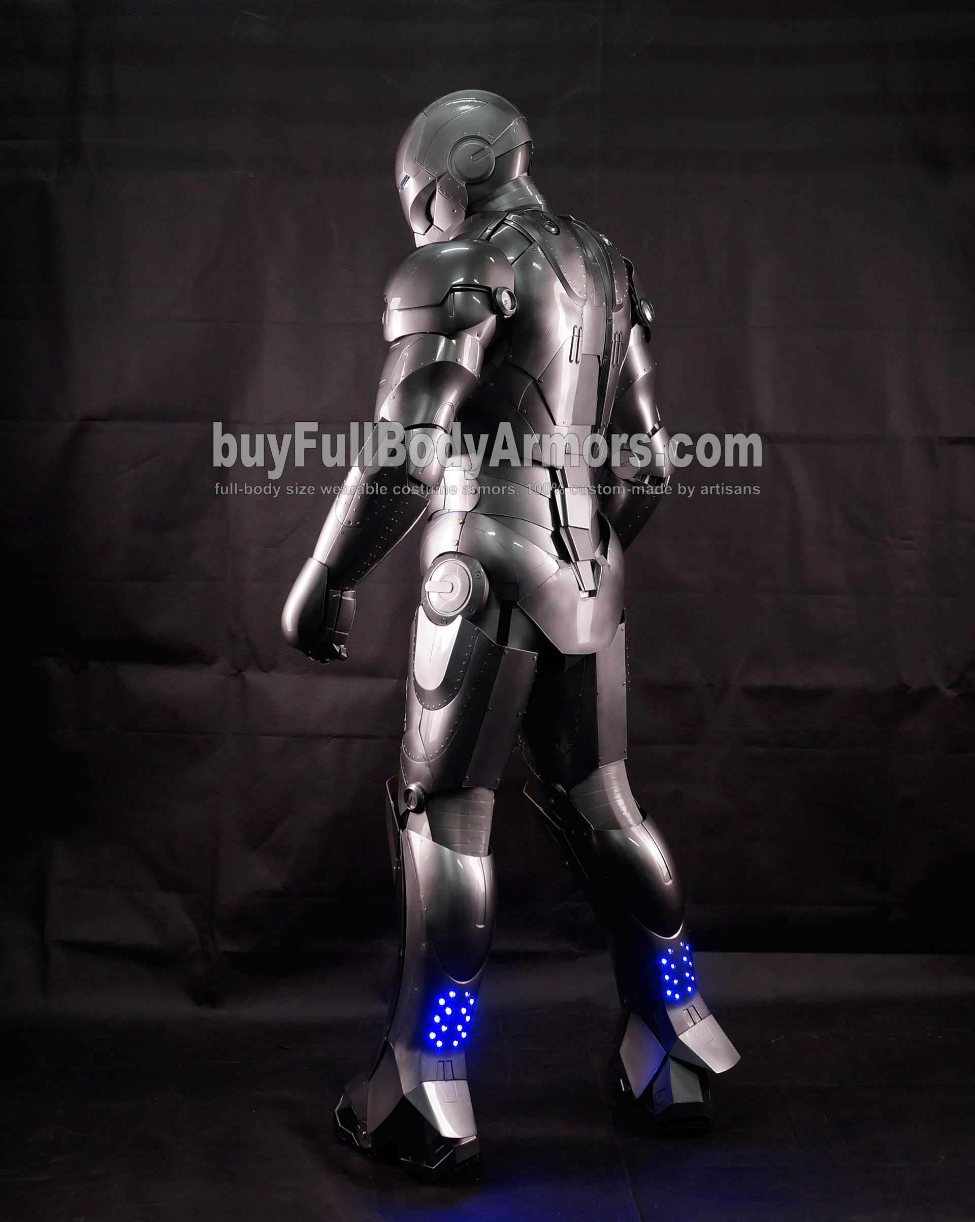High Definition Photos of the Wearable Iron Man Mark 2 II Armor Costume Suit 3