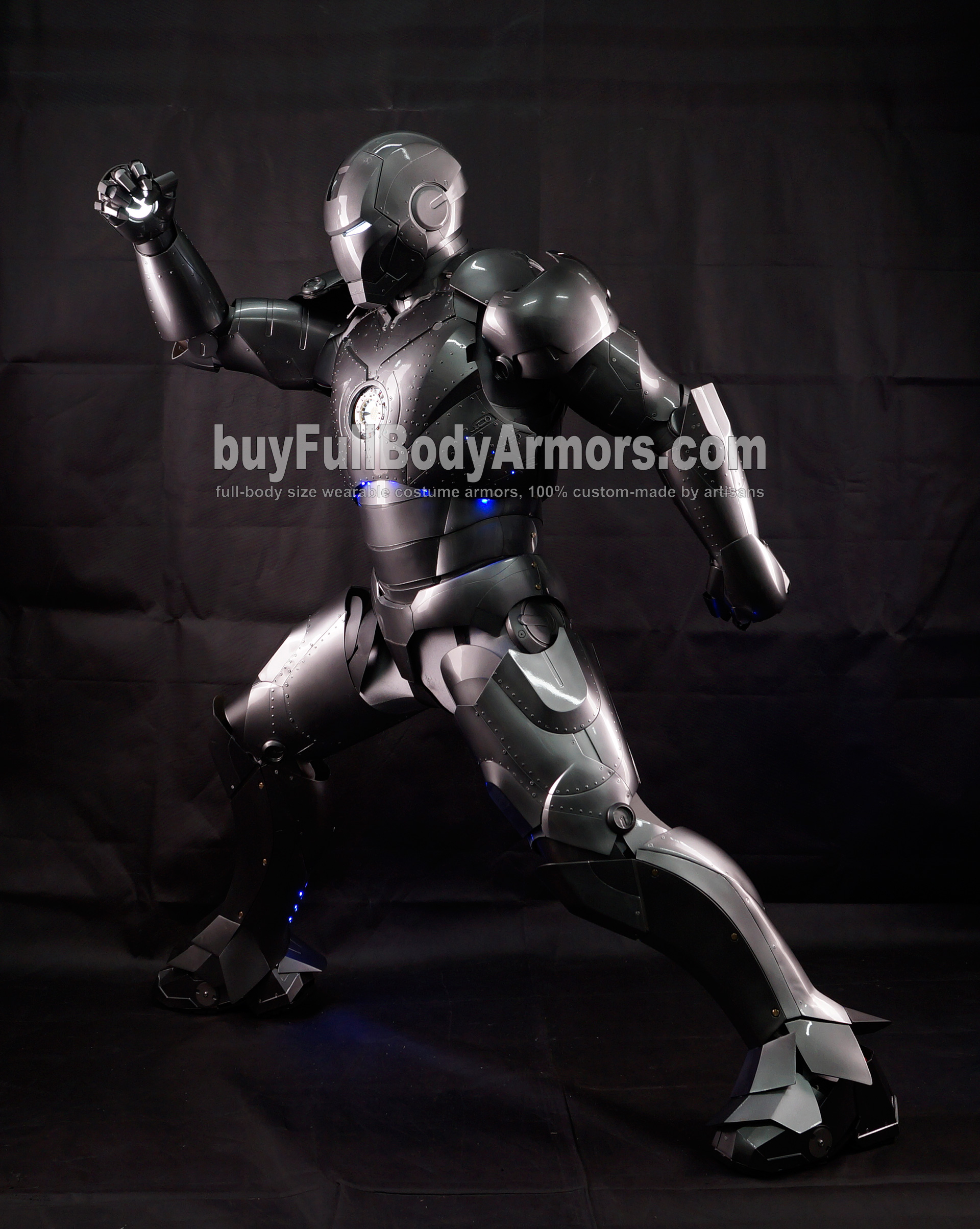 High Definition Photos of the Wearable Iron Man Mark 2 II Armor Costume Suit 4