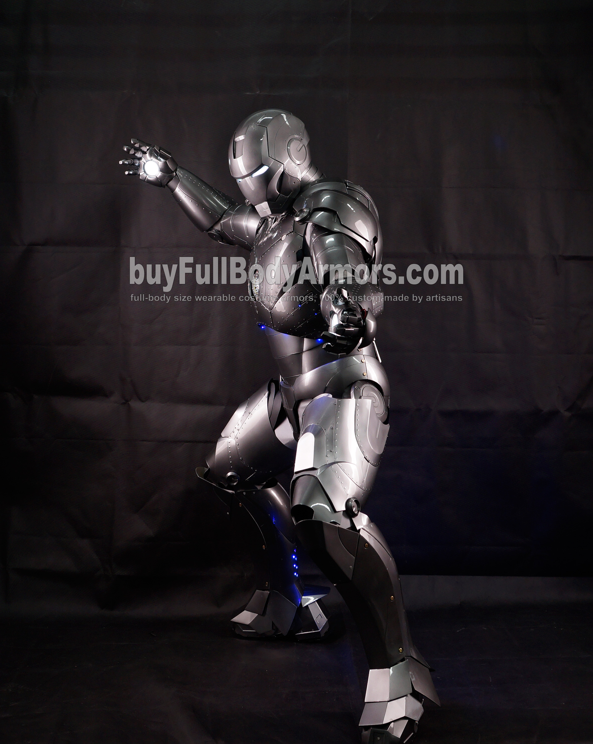 High Definition Photos of the Wearable Iron Man Mark 2 II Armor Costume Suit 5