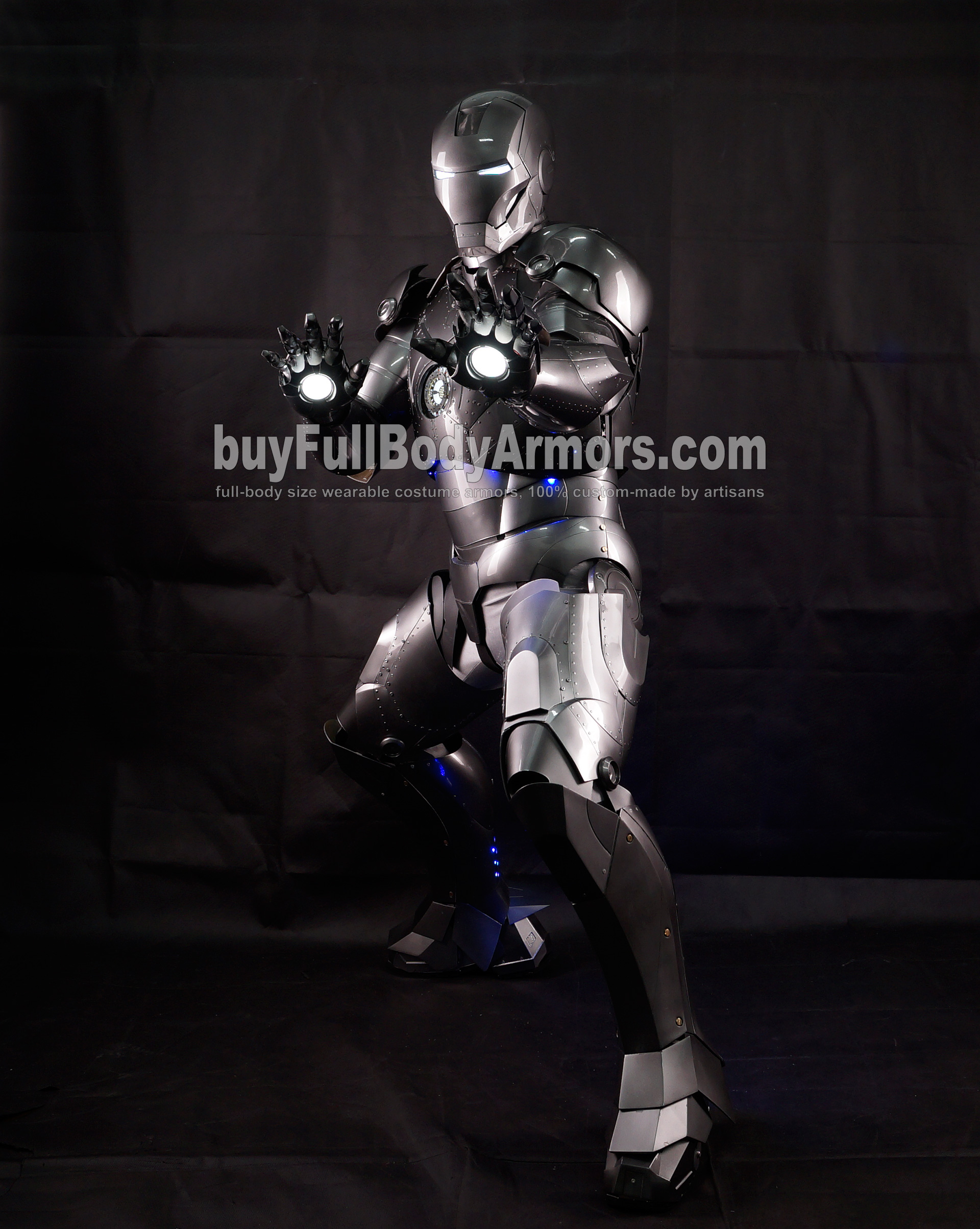 High Definition Photos of the Wearable Iron Man Mark 2 II Armor Costume Suit 6