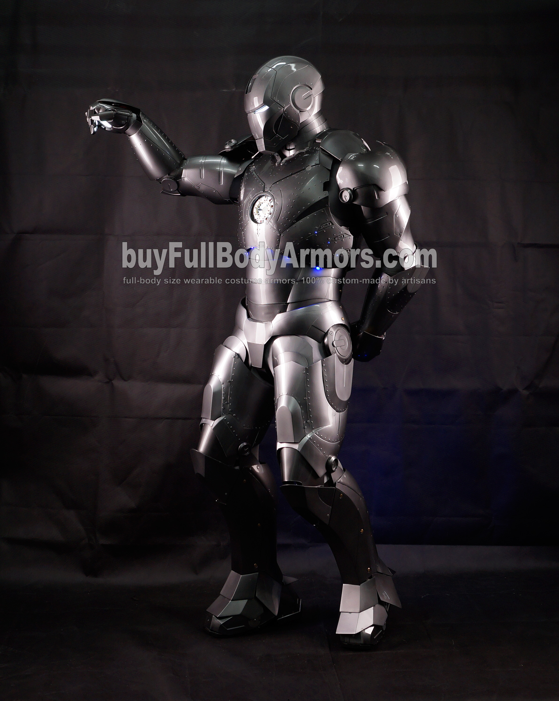 High Definition Photos of the Wearable Iron Man Mark 2 II Armor Costume Suit 7