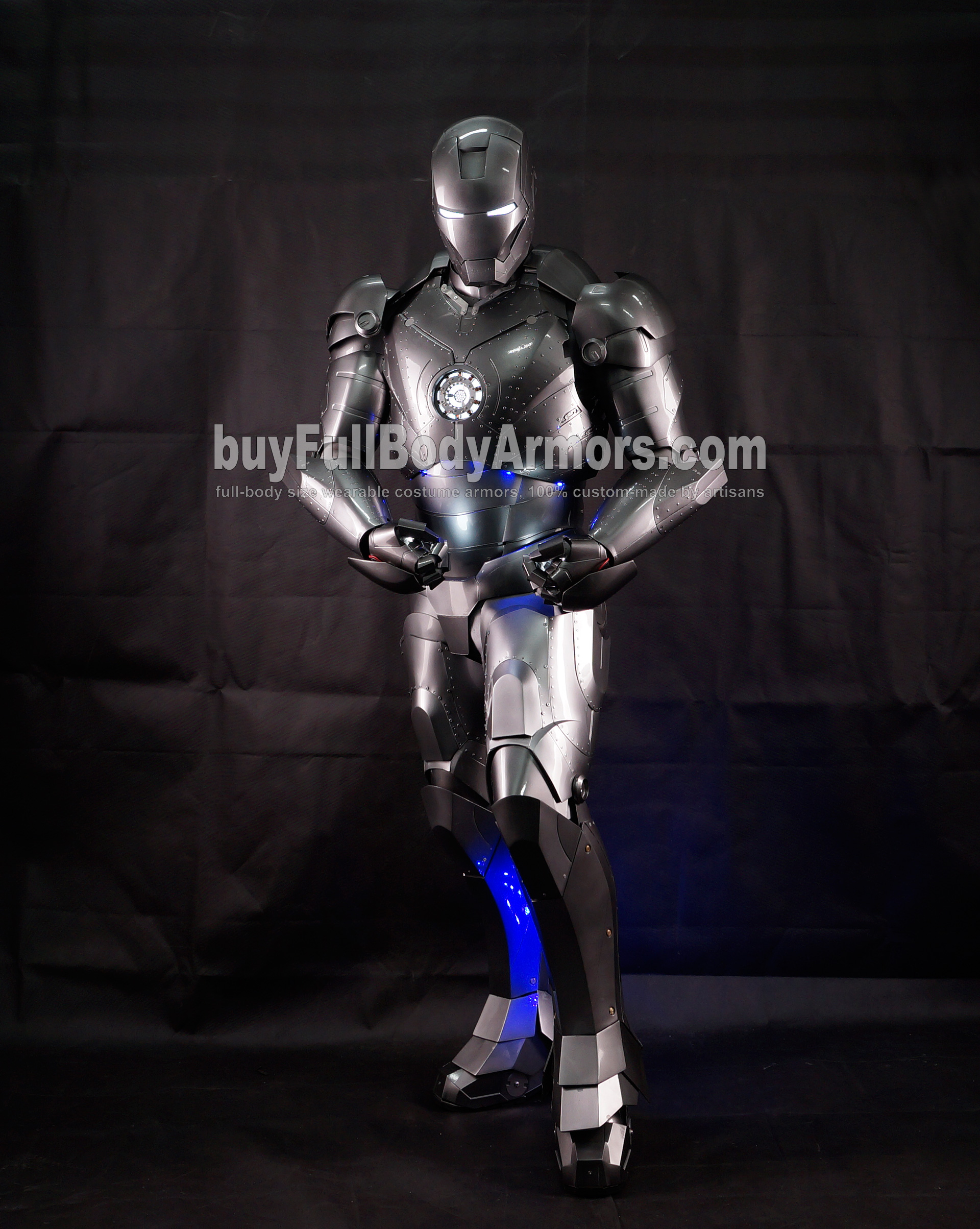 High Definition Photos of the Wearable Iron Man Mark 2 II Armor Costume Suit 8