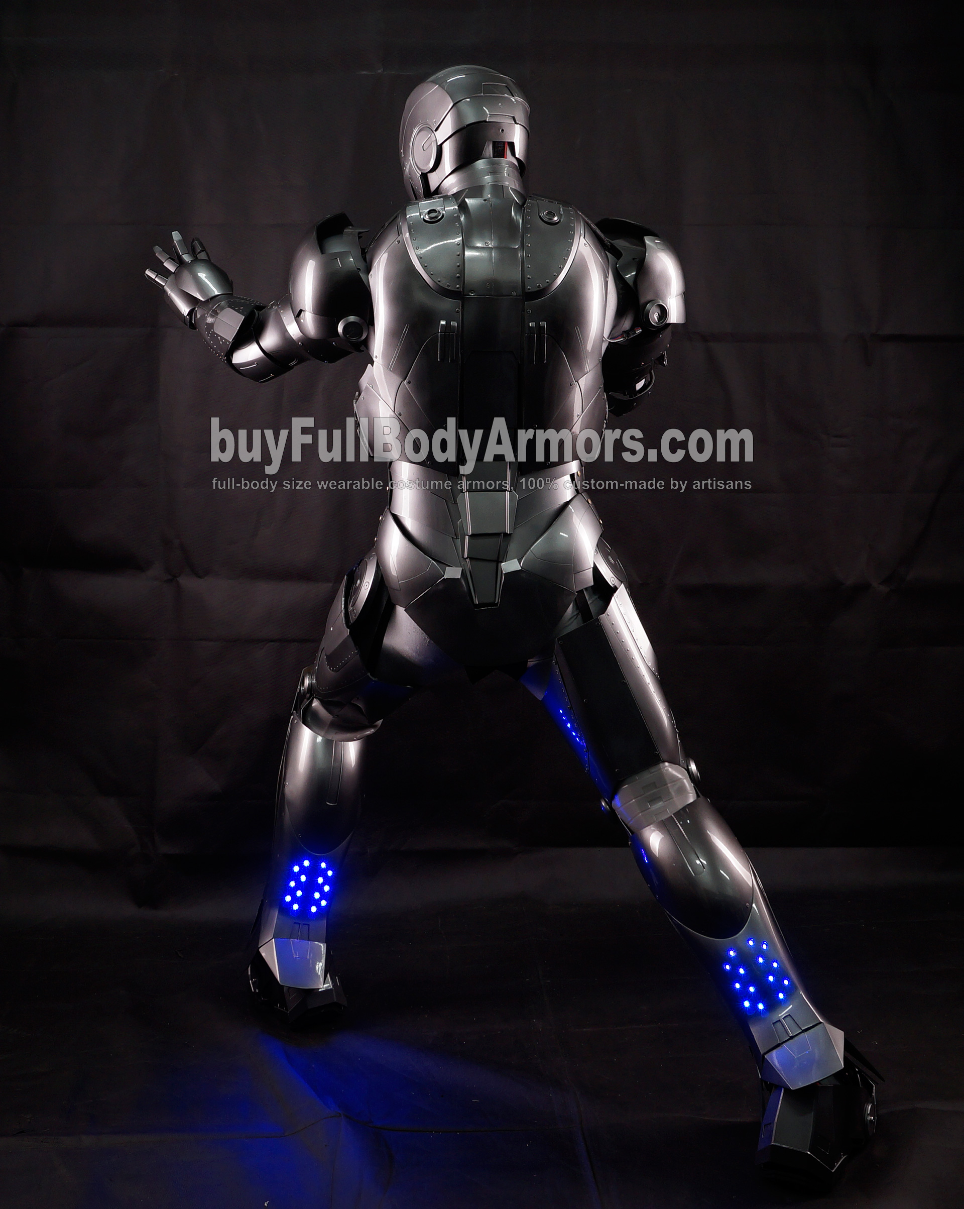 High Definition Photos of the Wearable Iron Man Mark 2 II Armor Costume Suit 9
