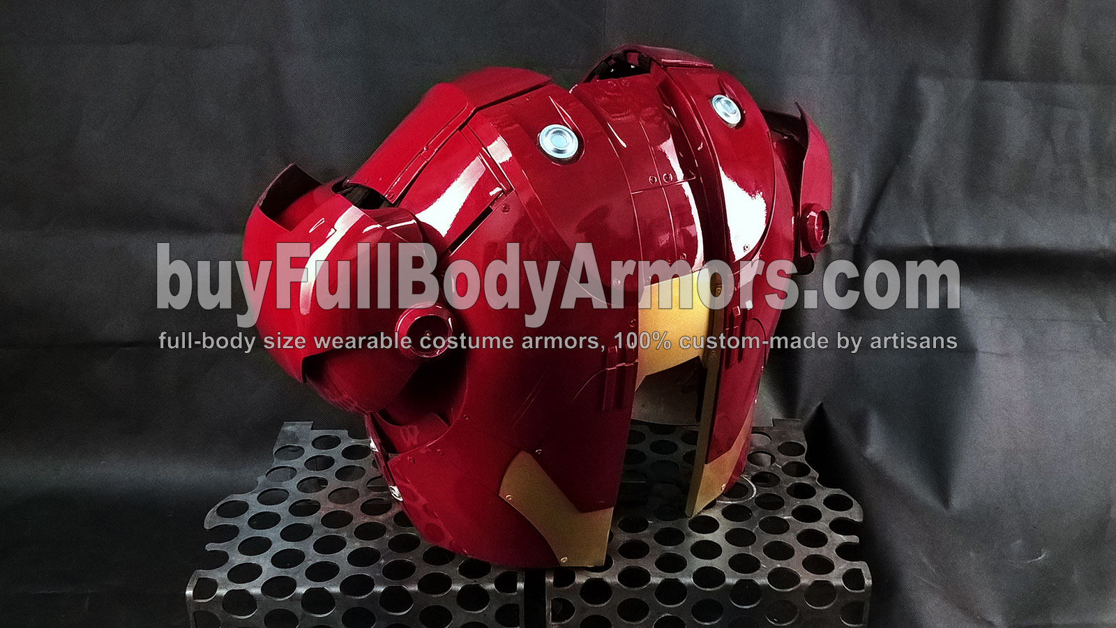the Wearable Iron Man Suit Mark 3 III Armor Costume - Back Prototype 1