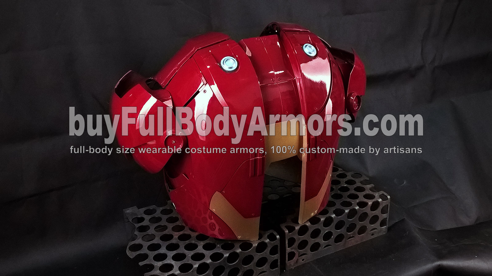 the Wearable Iron Man Suit Mark 3 III Armor Costume - Back Prototype 2