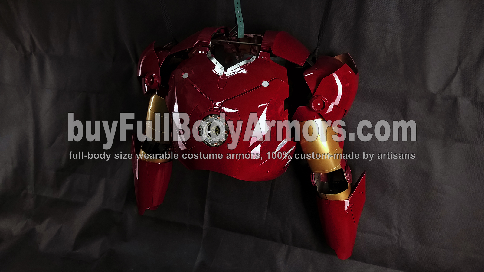 The Wearable Iron Man Suit Mark 3 III Armor Costume - Chest, Shoulder Caps, Arms Prototype