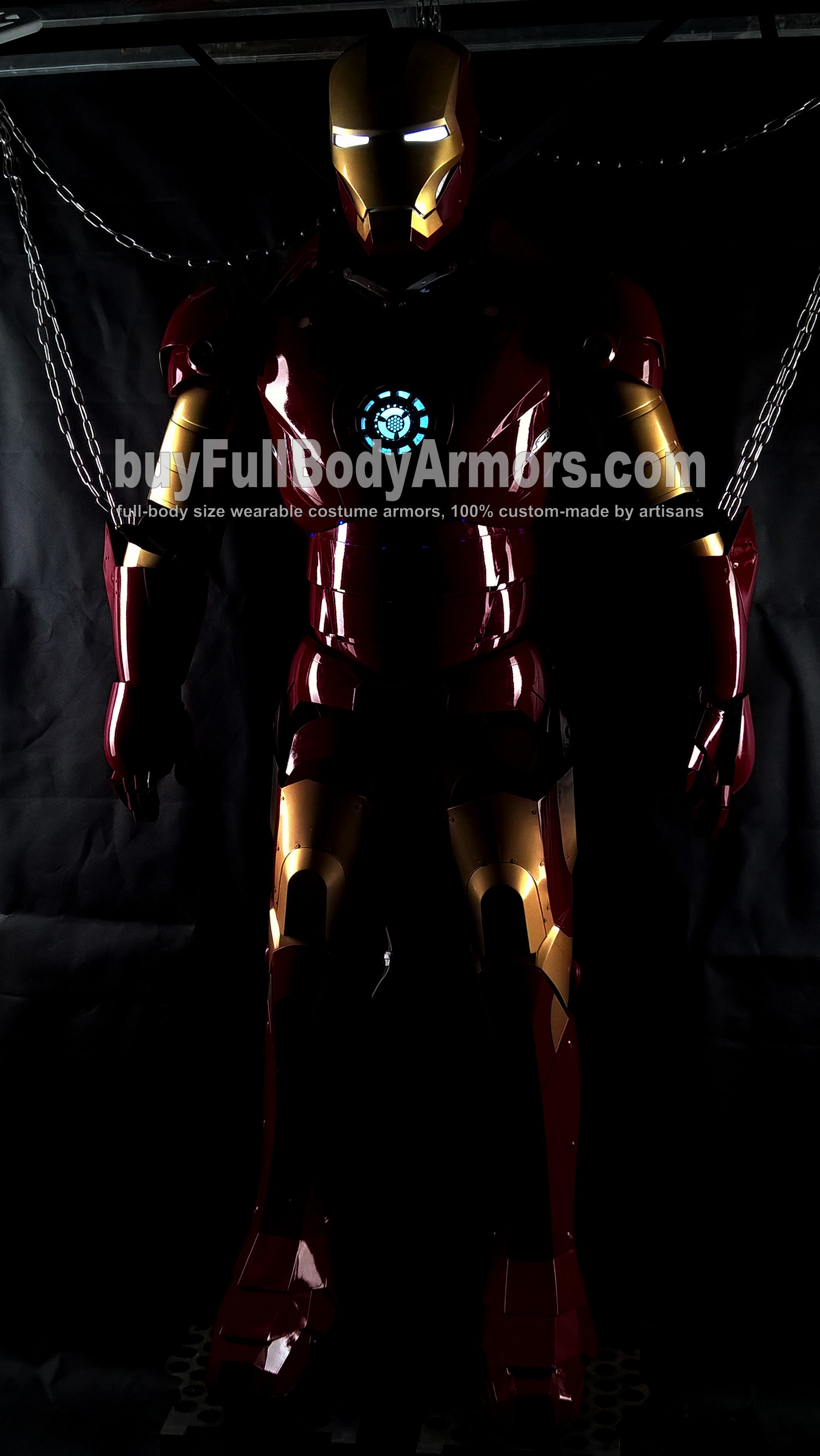 The Wearable Iron Man Suit Mark 3 III Armor Costume - Full Prototype 1