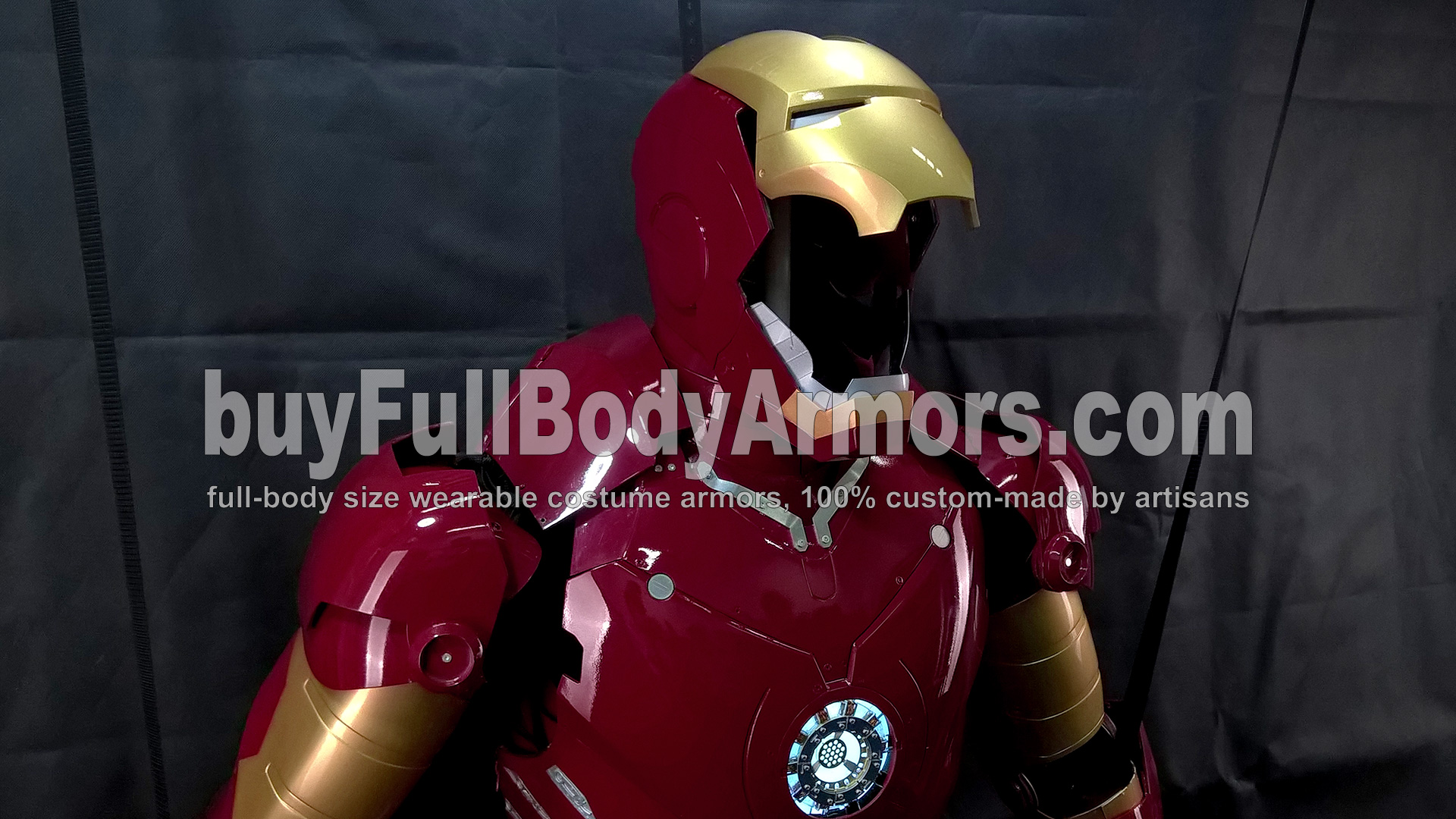 The Wearable Iron Man Suit Mark 3 III Armor Costume - Top Half Prototype 1