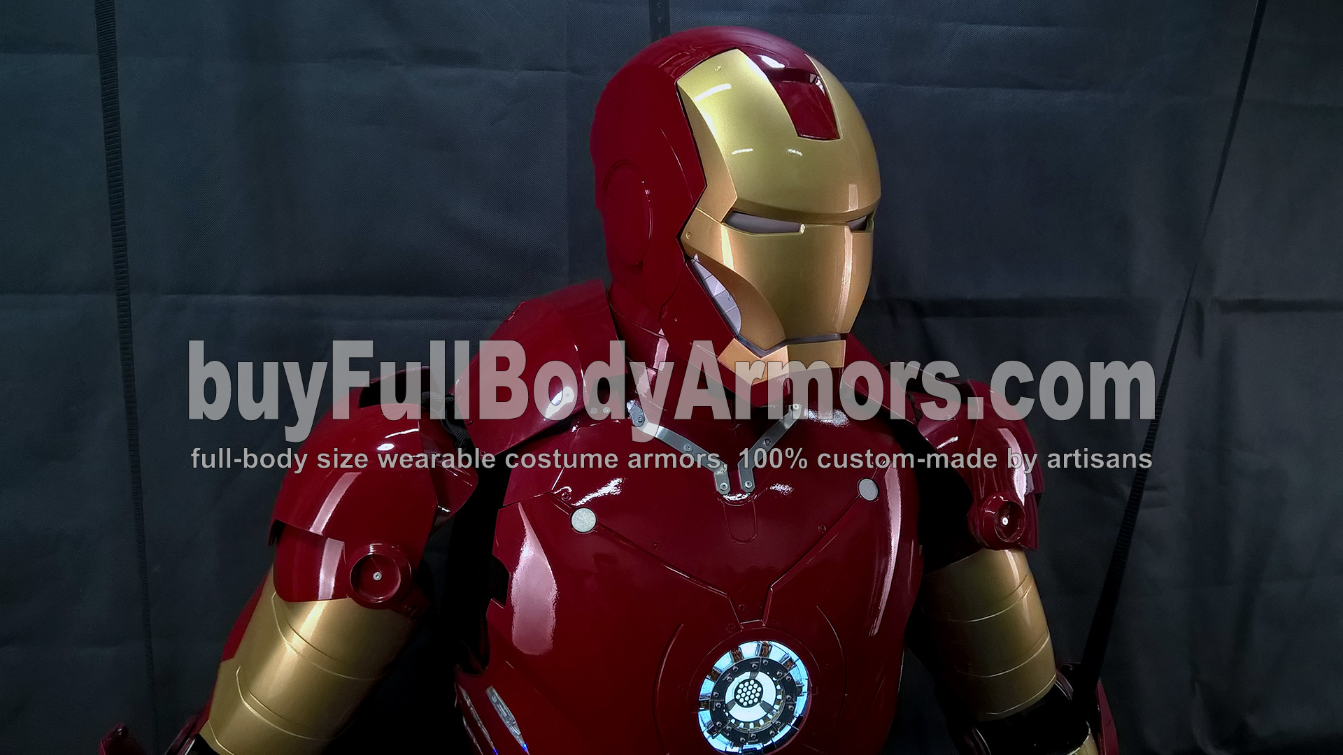 The Wearable Iron Man Suit Mark 3 III Armor Costume - Top Half Prototype 2