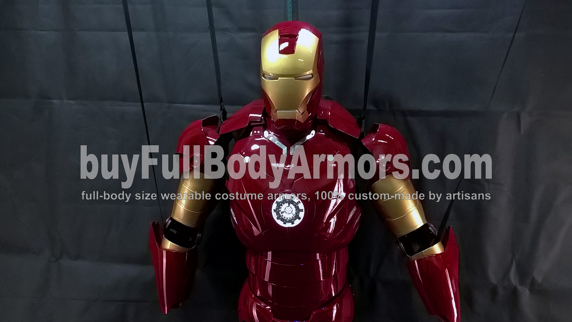 The Wearable Iron Man Suit Mark 3 III Armor Costume - Top Half Prototype 3