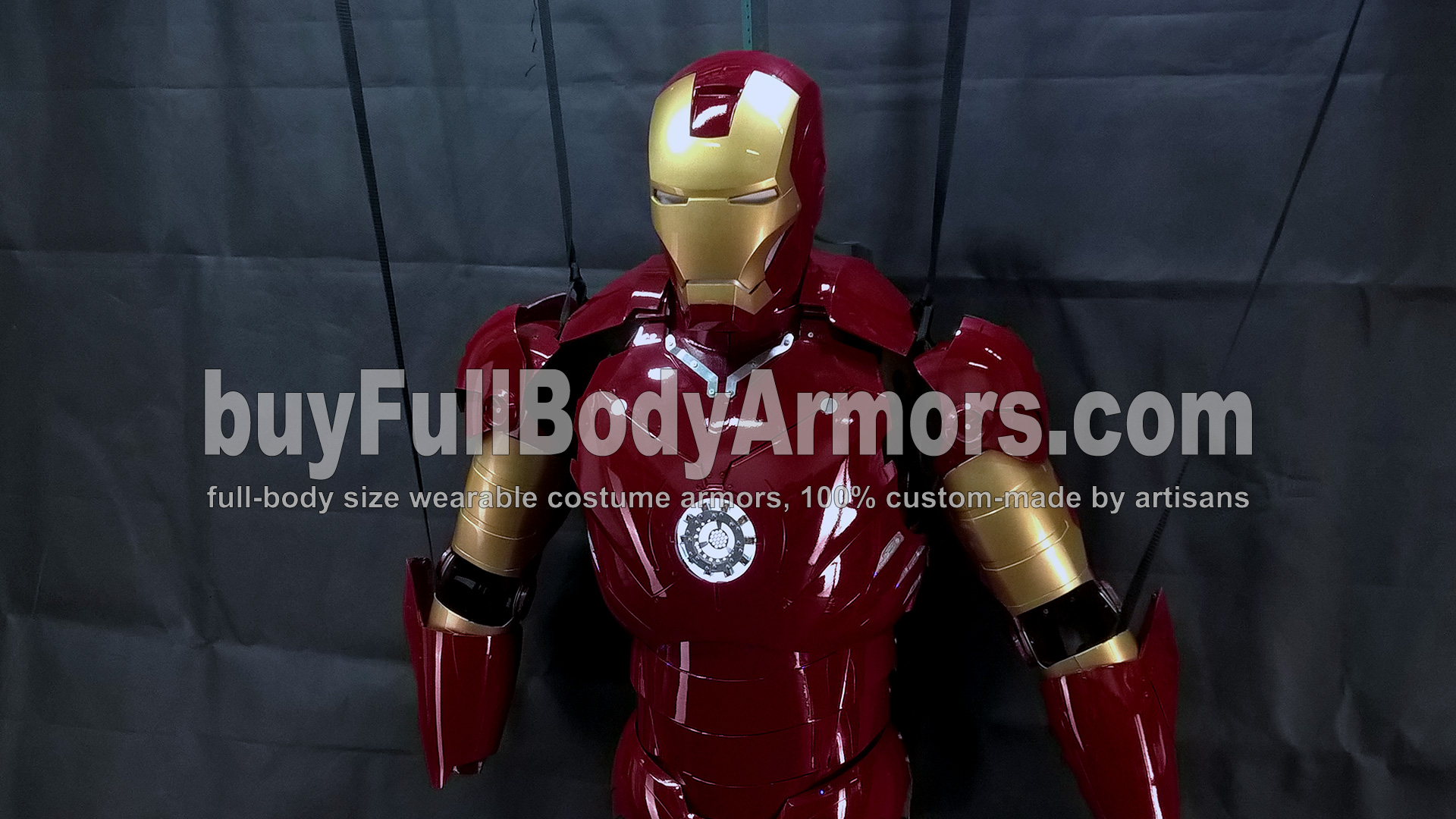 The Wearable Iron Man Suit Mark 3 III Armor Costume - Top Half Prototype 4