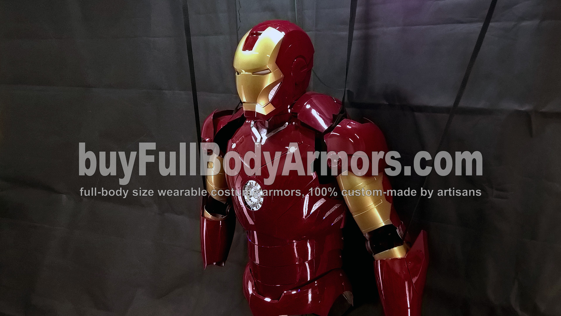 The Wearable Iron Man Suit Mark 3 III Armor Costume - Top Half Prototype 5