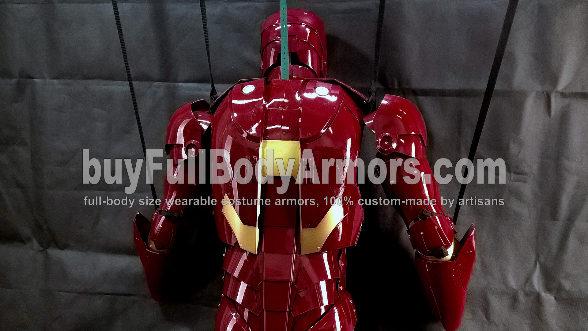 The Wearable Iron Man Suit Mark 3 III Armor Costume - Top Half Prototype 6